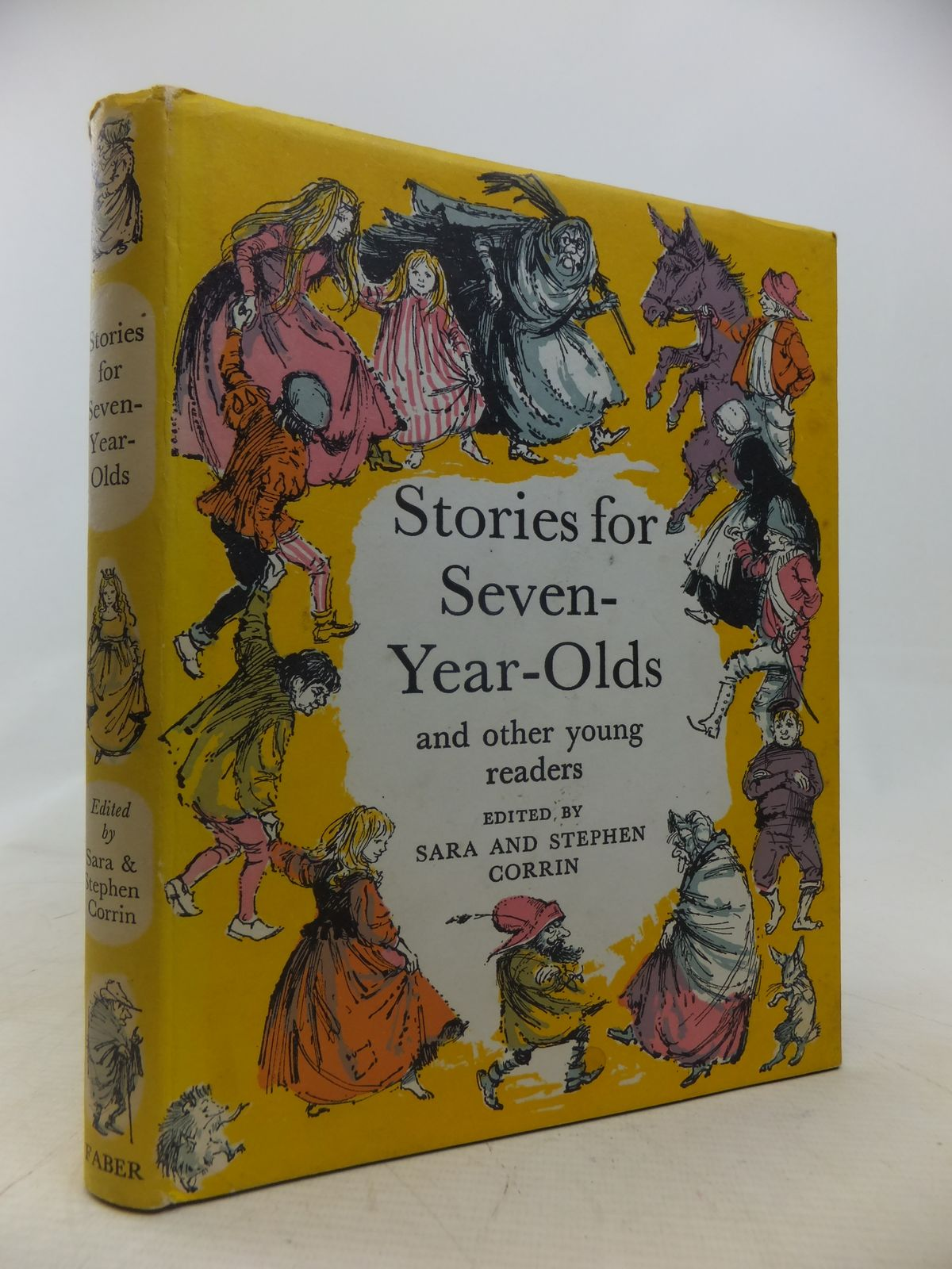 Photo of STORIES FOR SEVEN-YEAR-OLDS AND OTHER YOUNG READERS written by Corrin, Sara<br />Corrin, Stephen illustrated by Hughes, Shirley published by Faber & Faber Ltd. (STOCK CODE: 1809784)  for sale by Stella & Rose's Books