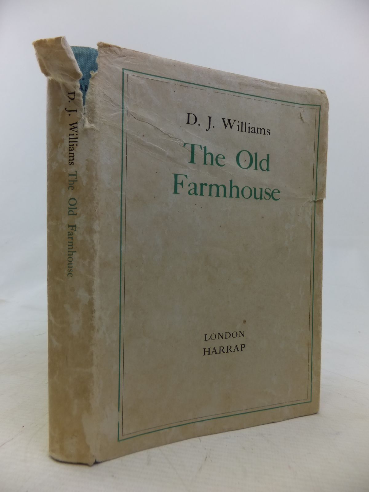 Photo of THE OLD FARMHOUSE written by Williams, D.J. published by George G. Harrap & Co. Ltd. (STOCK CODE: 1809830)  for sale by Stella & Rose's Books
