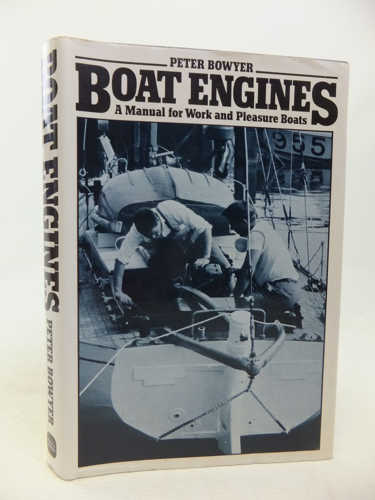 Photo of BOAT ENGINES A MANUAL FOR WORK AND PLEASURE BOATS written by Bowyer, Peter J. published by David & Charles (STOCK CODE: 1809920)  for sale by Stella & Rose's Books