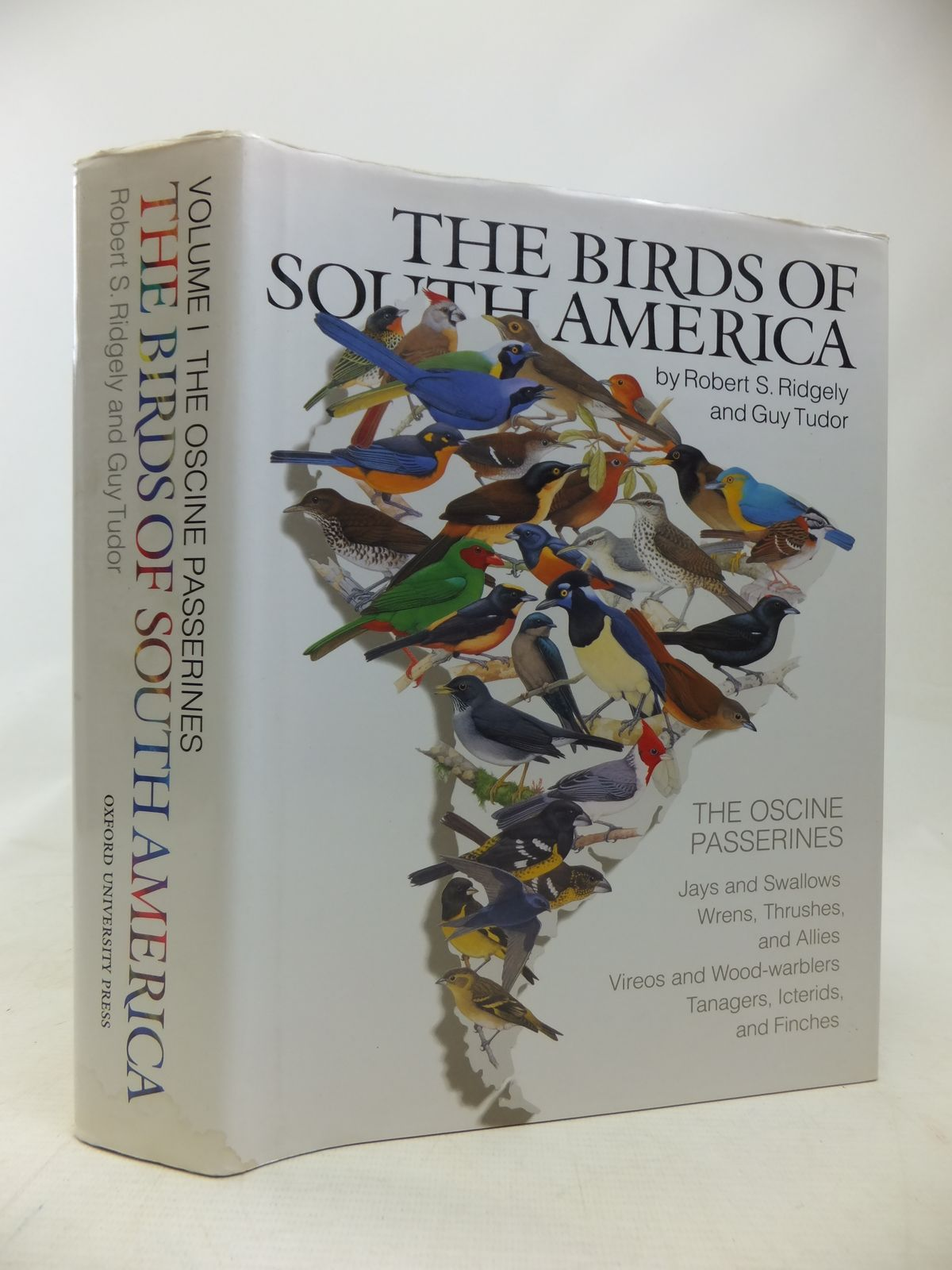 Photo of THE BIRDS OF SOUTH AMERICA VOLUME I THE OSCINE PASSERINES written by Ridgely, Robert S.<br />Tudor, Guy published by Oxford University Press (STOCK CODE: 1810107)  for sale by Stella & Rose's Books