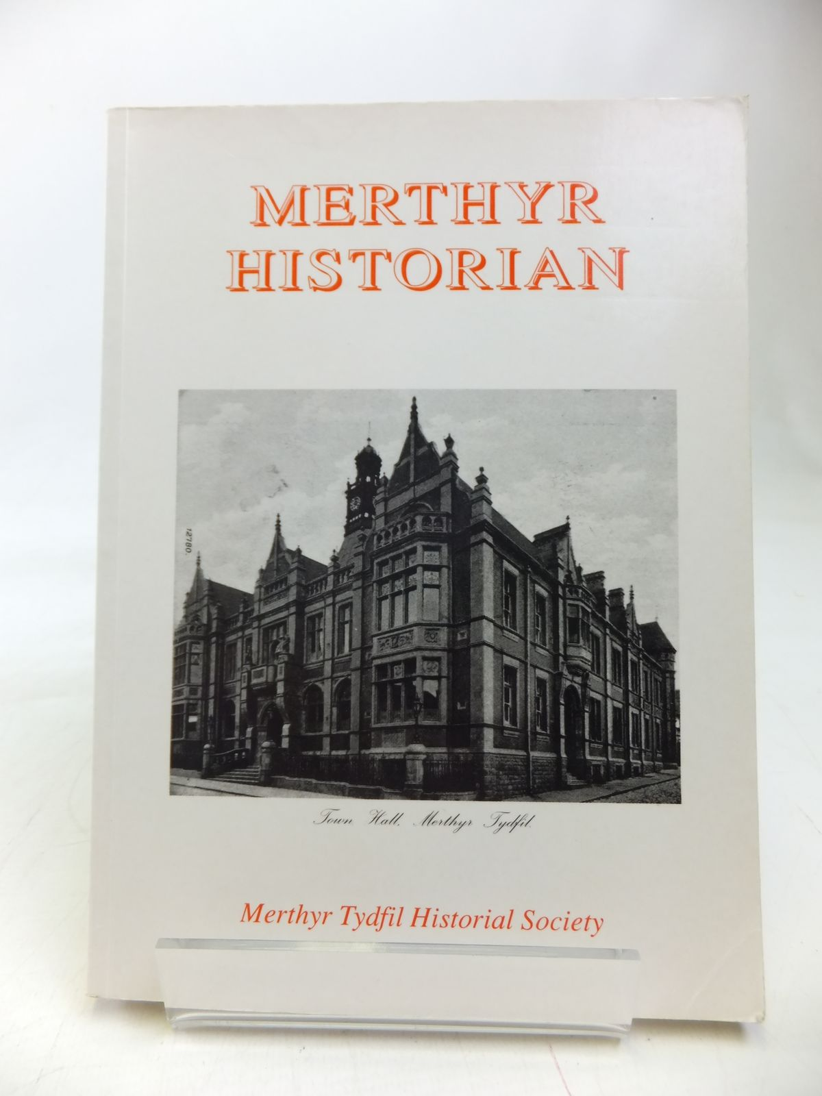 Photo of MERTHYR HISTORIAN VOLUME FIVE written by Holley, T.F. published by Merthyr Tydfil Historical Society (STOCK CODE: 1810133)  for sale by Stella & Rose's Books