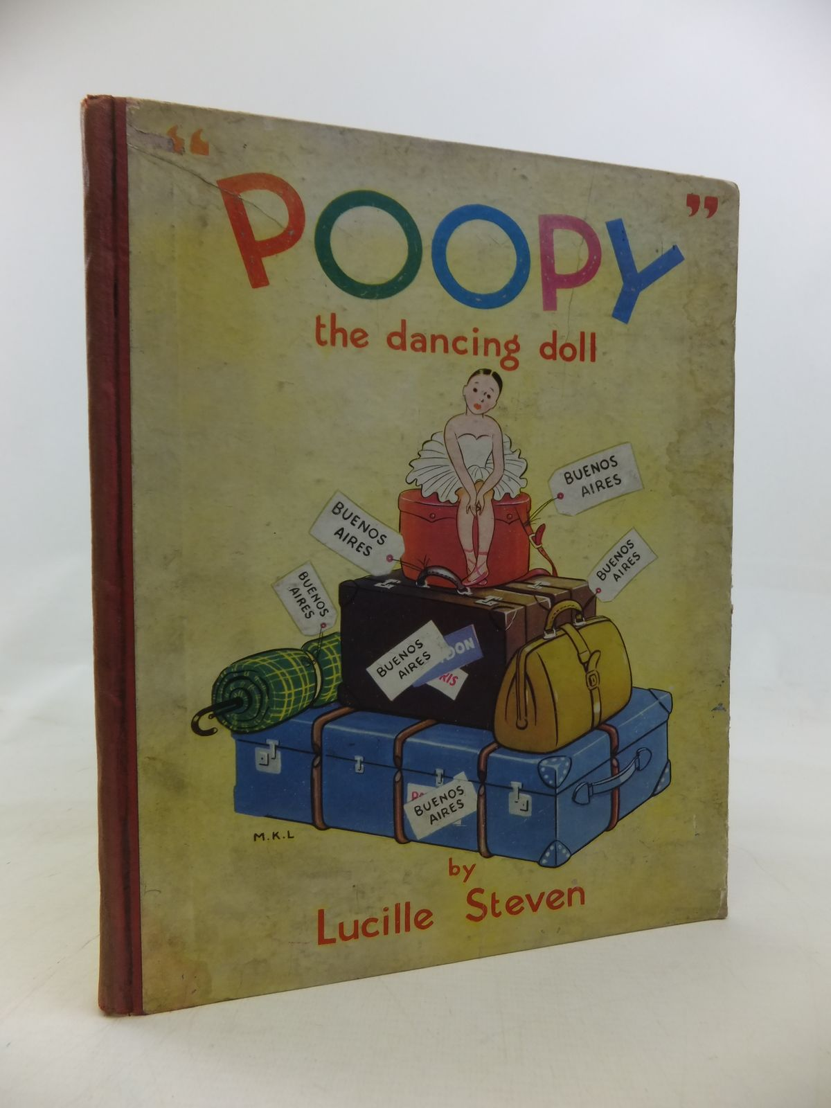 Photo of POOPY, THE DANCING DOLL written by Steven, Lucille published by Art And Educational Publishers Ltd. (STOCK CODE: 1810295)  for sale by Stella & Rose's Books