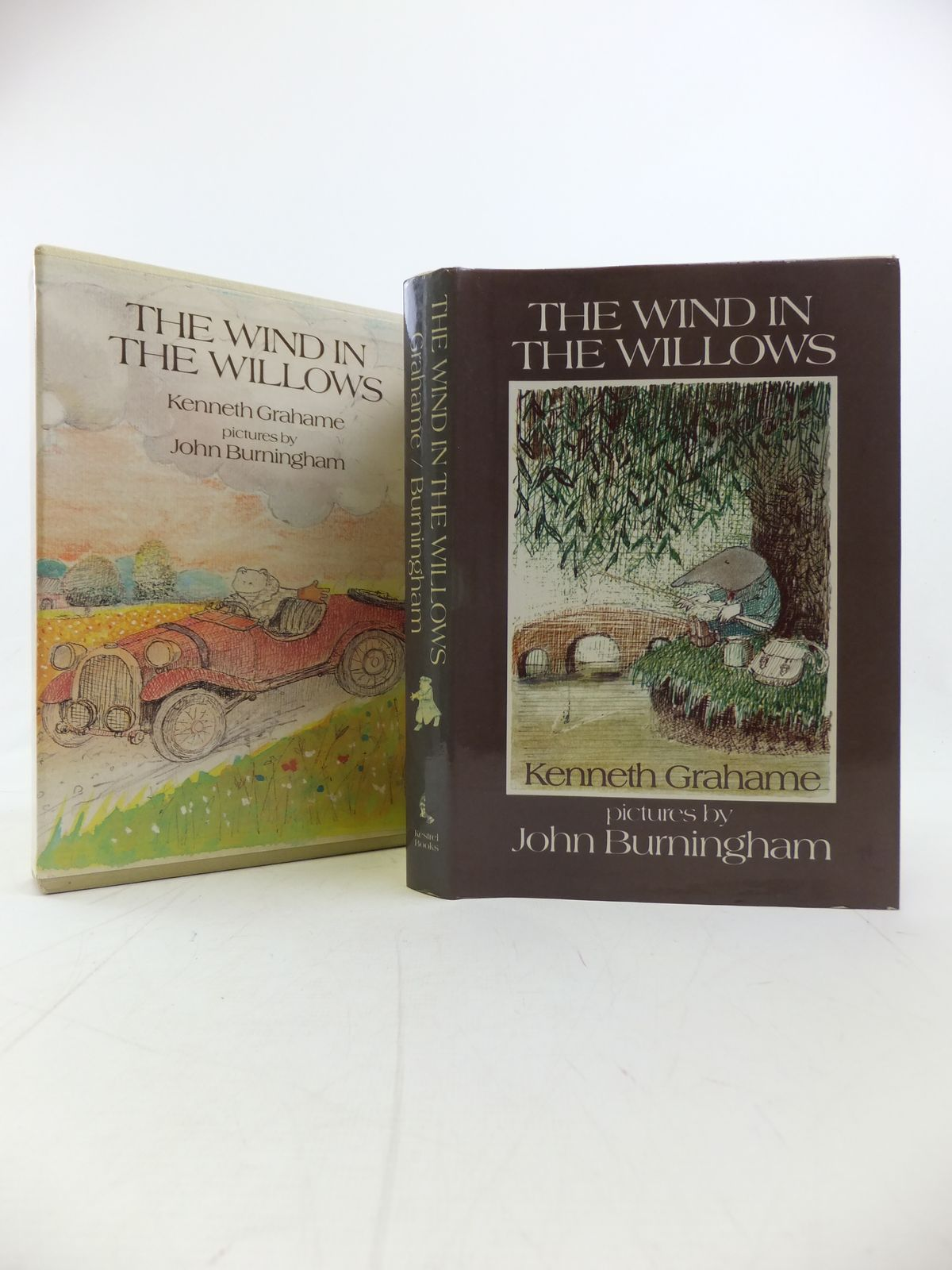 Photo of THE WIND IN THE WILLOWS written by Grahame, Kenneth illustrated by Burningham, John published by Kestrel Books (STOCK CODE: 1810320)  for sale by Stella & Rose's Books