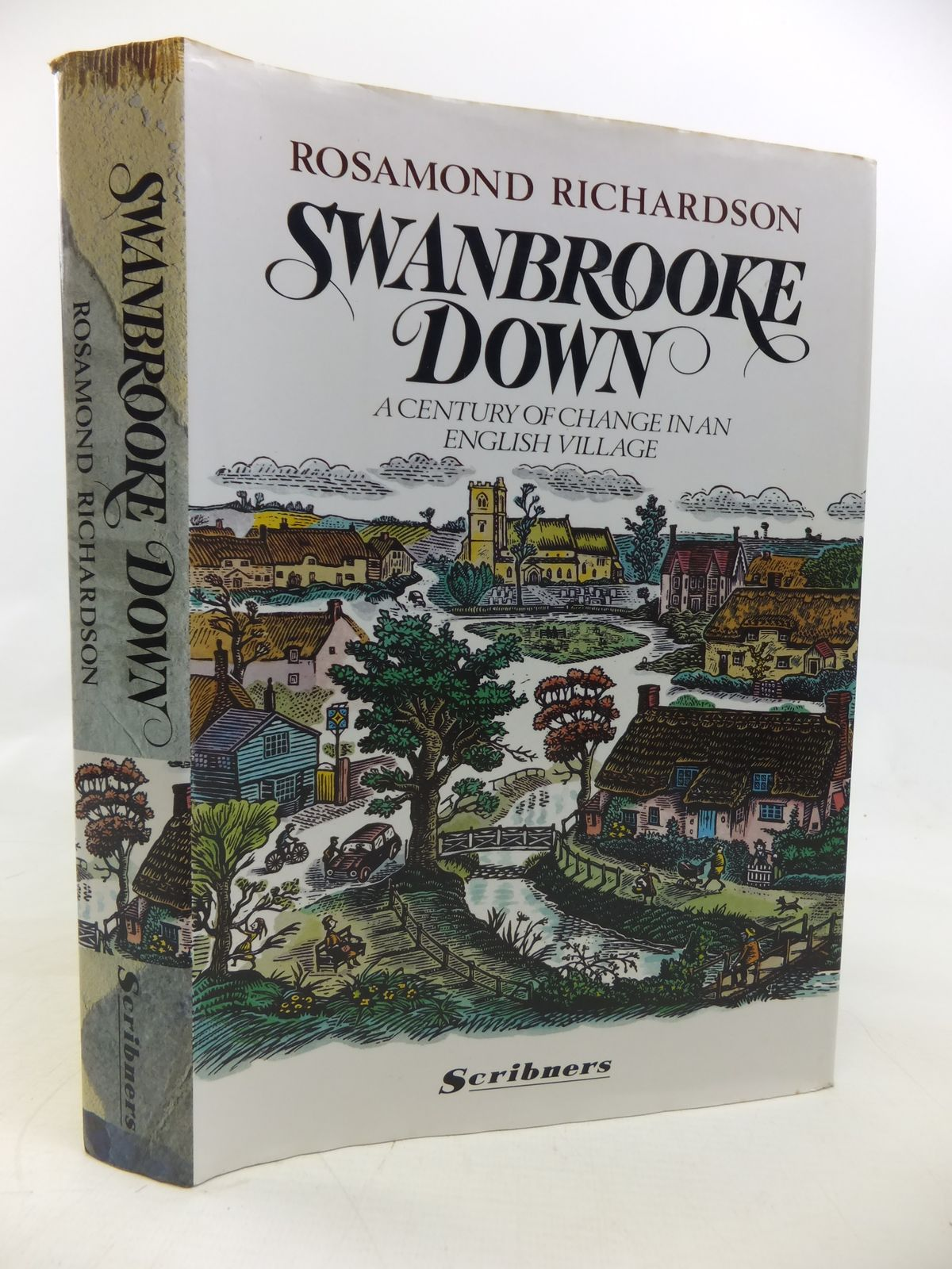 Photo of SWANBROOKE DOWN A CENTURY OF CHANGE IN AN ENGLISH VILLAGE written by Richardson, Rosamond illustrated by Firmin, Peter published by Scribners (STOCK CODE: 1810335)  for sale by Stella & Rose's Books