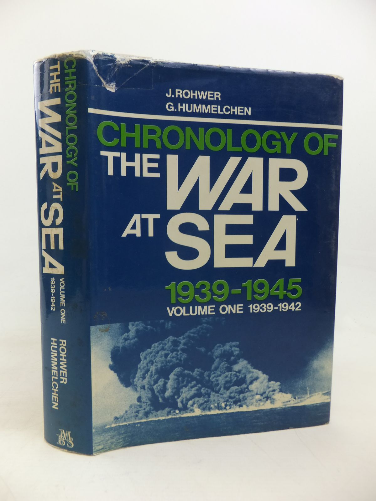 Photo of CHRONOLOGY OF THE WAR AT SEA 1939-1945 VOLUME ONE: 1939-1942 written by Rohwer, Jurgen<br />Hummelchen, Gerhard published by Military Book Society (STOCK CODE: 1810427)  for sale by Stella & Rose's Books
