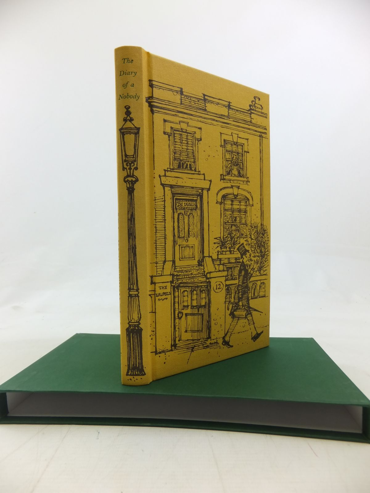 Photo of THE DIARY OF A NOBODY written by Grossmith, George<br />Grossmith, Weedon illustrated by Lawrence, John published by Folio Society (STOCK CODE: 1810434)  for sale by Stella & Rose's Books