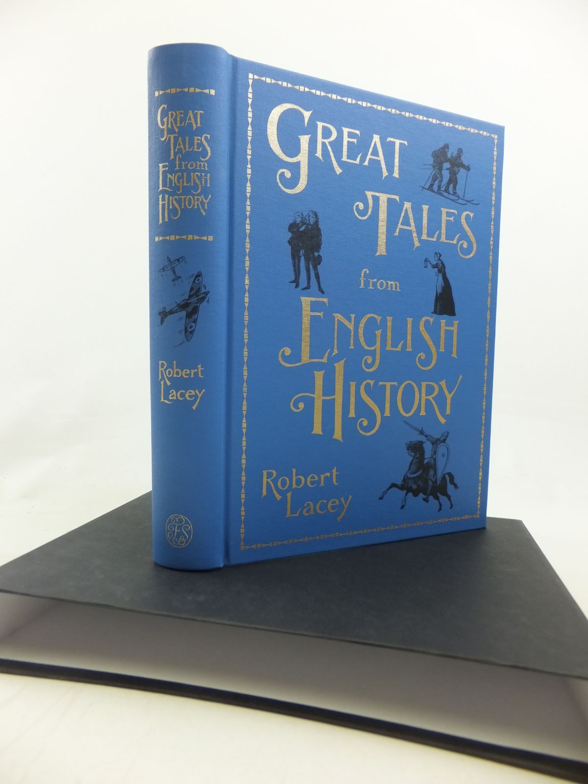 Photo of GREAT TALES FROM ENGLISH HISTORY written by Lacey, Robert published by Folio Society (STOCK CODE: 1810443)  for sale by Stella & Rose's Books