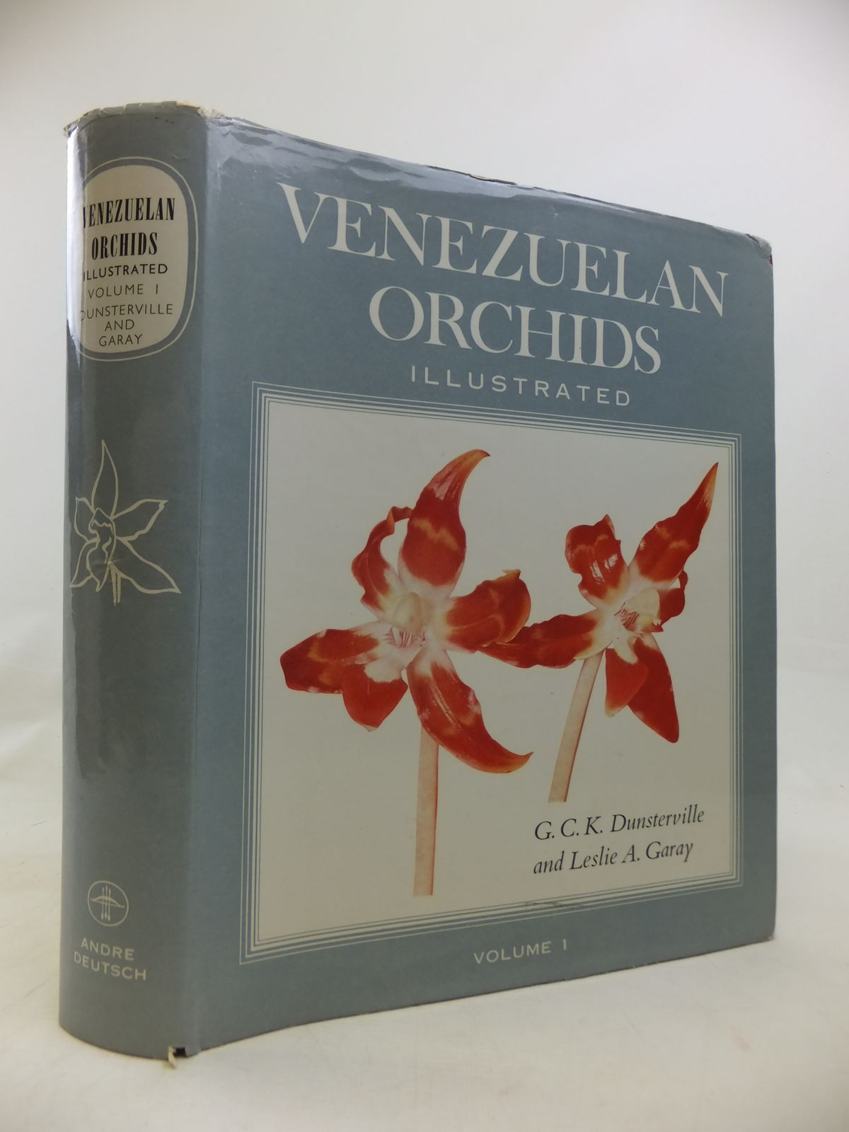 Photo of VENEZUELAN ORCHIDS ILLUSTRATED VOLUME I written by Dunsterville, G.C.K.<br />Garay, Leslie A. published by Andre Deutsch (STOCK CODE: 1810562)  for sale by Stella & Rose's Books