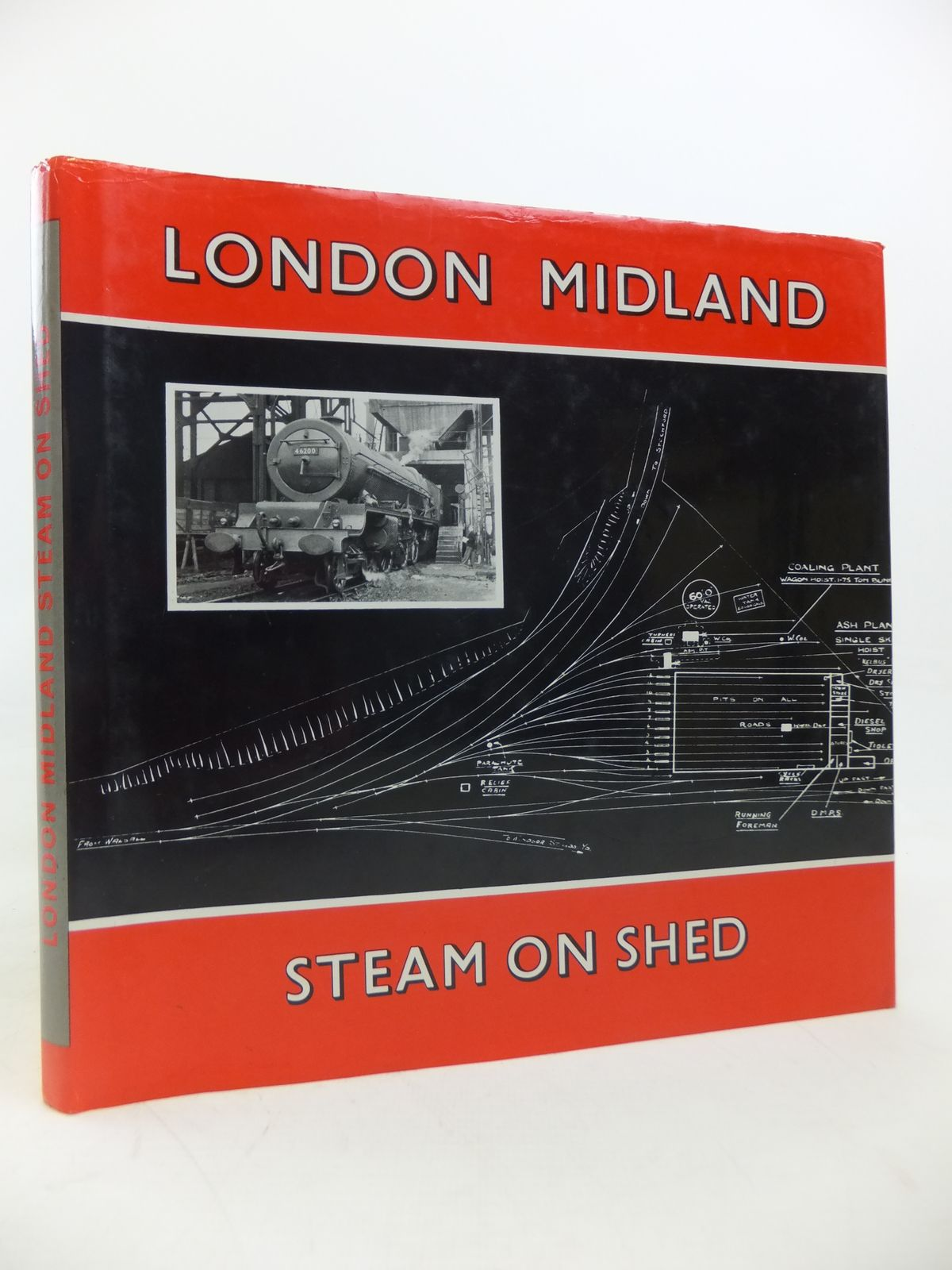 Photo of LONDON MIDLAND STEAM ON SHED written by '45562',  published by D. Bradford Barton (STOCK CODE: 1810589)  for sale by Stella & Rose's Books
