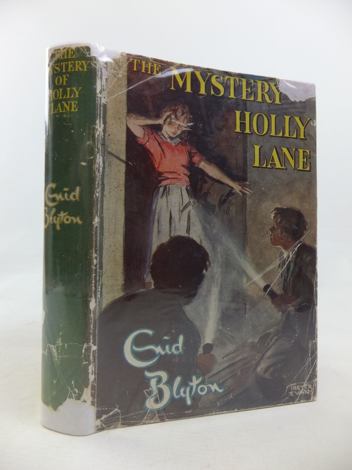 Photo of THE MYSTERY OF HOLLY LANE written by Blyton, Enid illustrated by Evans, Treyer published by Methuen & Co. Ltd. (STOCK CODE: 1810694)  for sale by Stella & Rose's Books