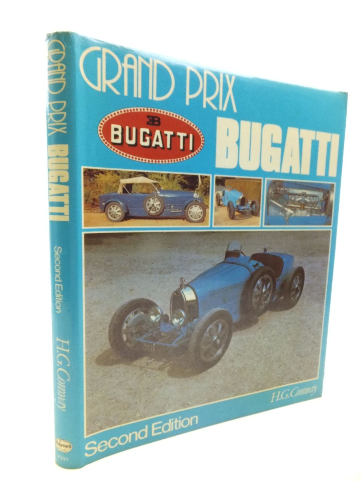 Photo of GRAND PRIX BUGATTI written by Conway, H.G. published by Foulis, Haynes Publishing Group (STOCK CODE: 1810763)  for sale by Stella & Rose's Books