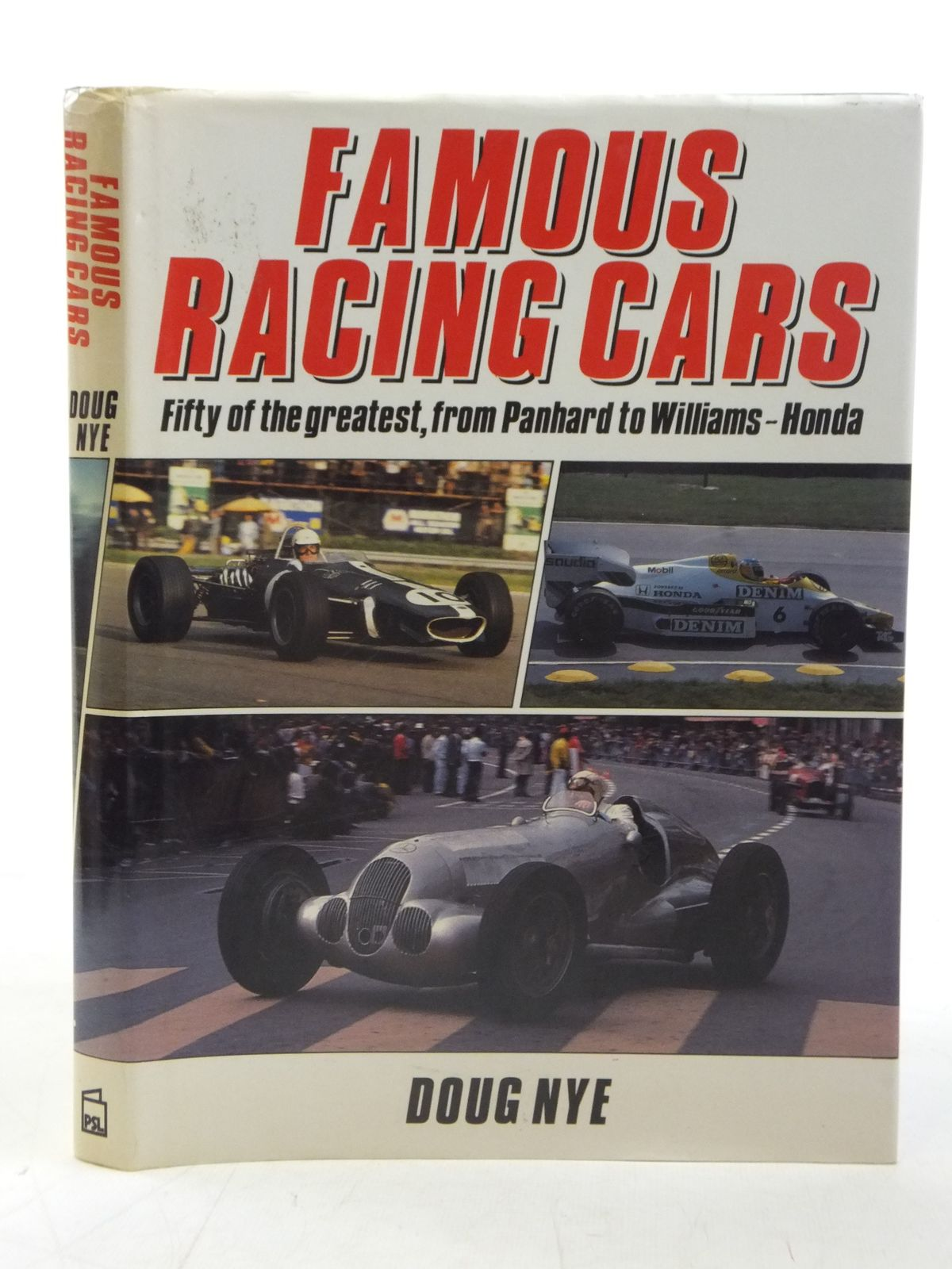 Photo of FAMOUS RACING CARS written by Nye, Doug published by Patrick Stephens Limited (STOCK CODE: 1810814)  for sale by Stella & Rose's Books