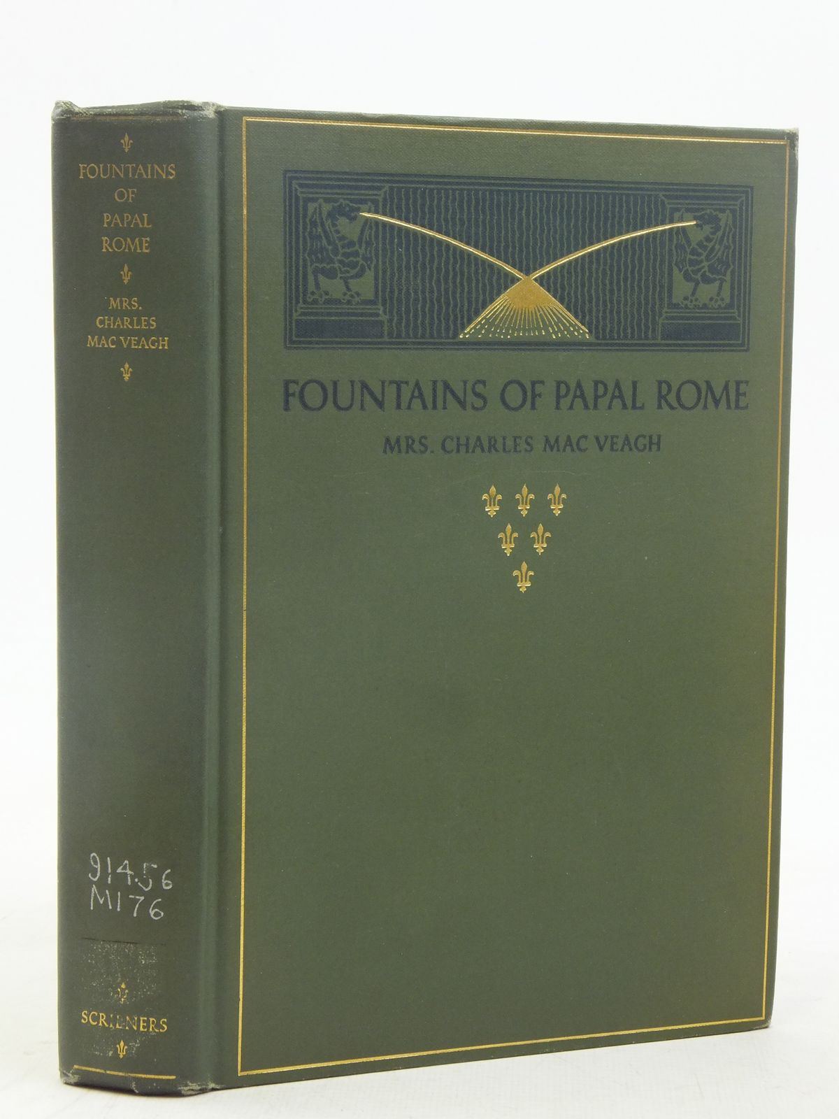 Photo of FOUNTAINS OF PAPAL ROME written by Veagh, Charles Mac illustrated by Ruzicka, Rudolph published by Charles Scribner's Sons (STOCK CODE: 1810862)  for sale by Stella & Rose's Books