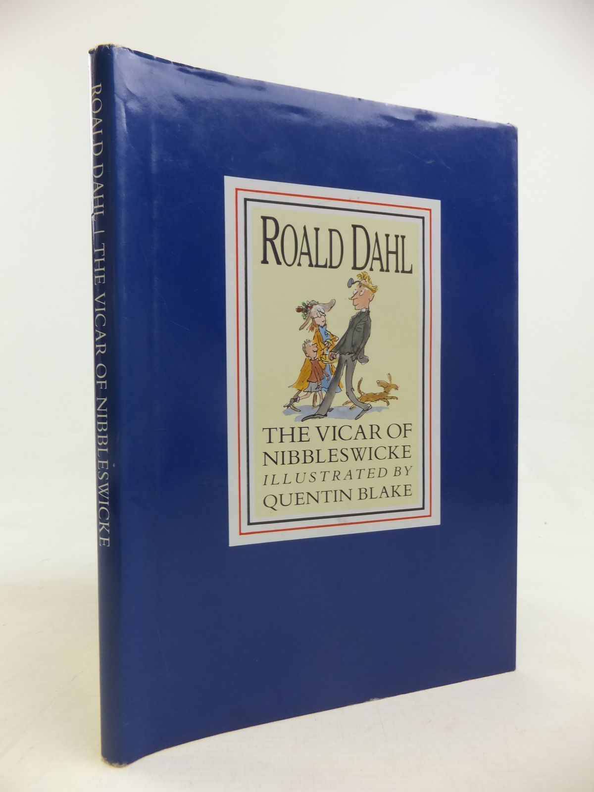 Photo of THE VICAR OF NIBBLESWICKE written by Dahl, Roald illustrated by Blake, Quentin published by Century Publishing (STOCK CODE: 1810977)  for sale by Stella & Rose's Books