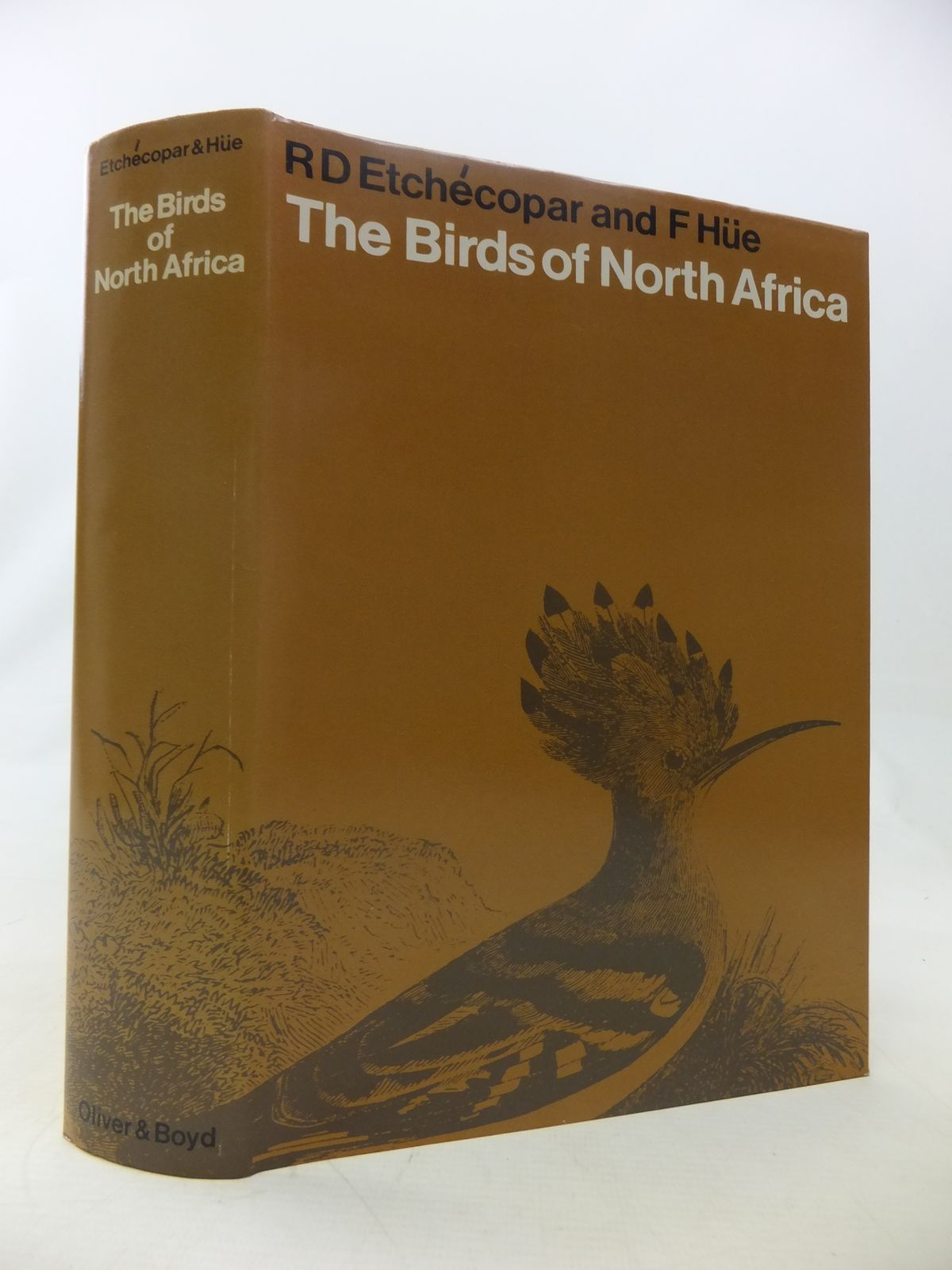 Photo of THE BIRDS OF NORTH AFRICA FROM THE CANARY ISLANDS TO THE RED SEA written by Etchecopar, R.D.<br />Hue, Francois illustrated by Barruel, Paul published by Oliver & Boyd (STOCK CODE: 1811050)  for sale by Stella & Rose's Books