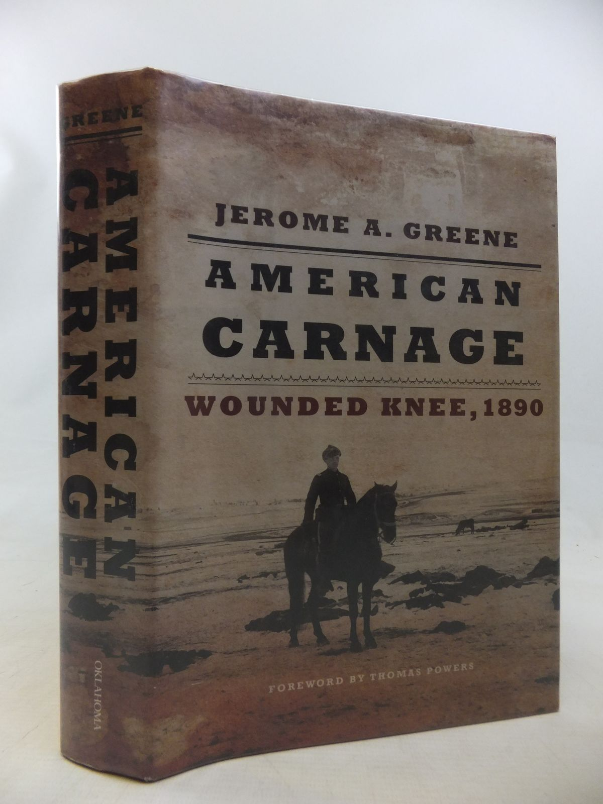 Photo of AMERICAN CARNAGE: WOUNDED KNEE, 1890 written by Greene, Jerome A. published by University of Oklahoma Press (STOCK CODE: 1811136)  for sale by Stella & Rose's Books