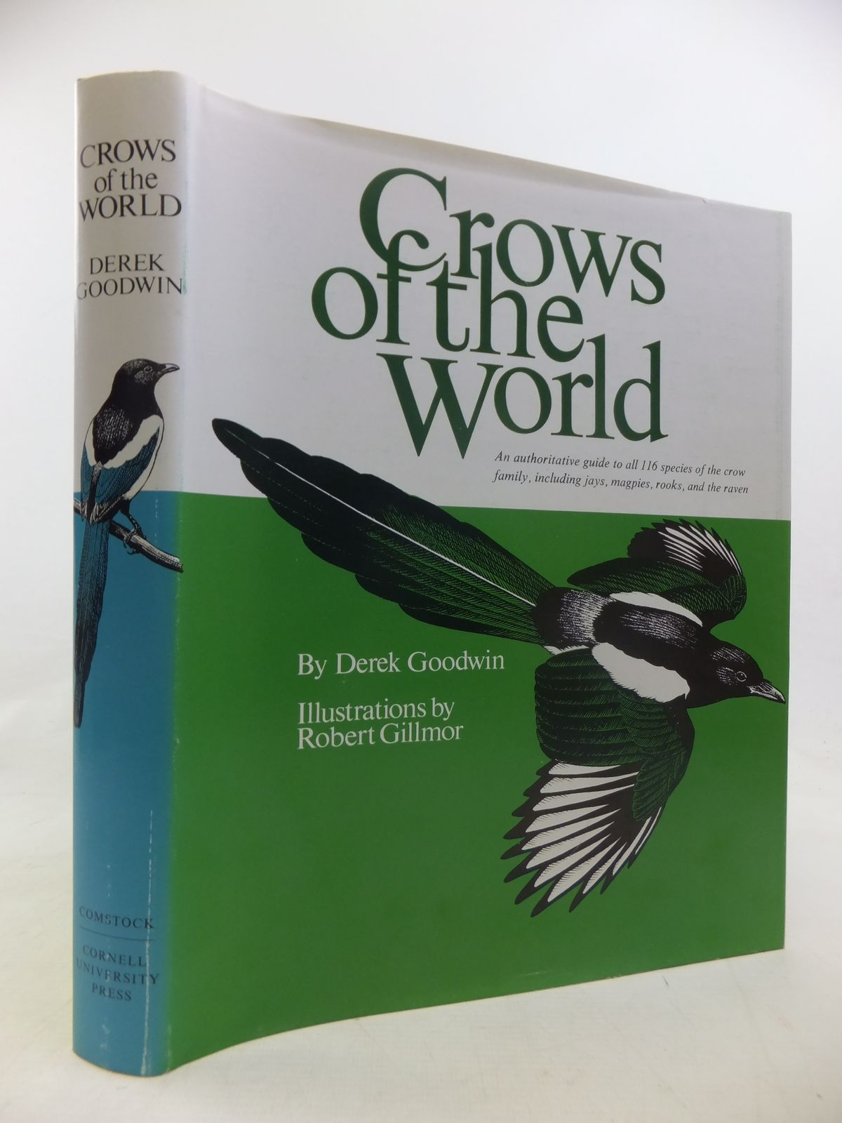 Photo of CROWS OF THE WORLD written by Goodwin, Derek illustrated by Gillmor, Robert published by Comstock Publishing Associates (STOCK CODE: 1811198)  for sale by Stella & Rose's Books
