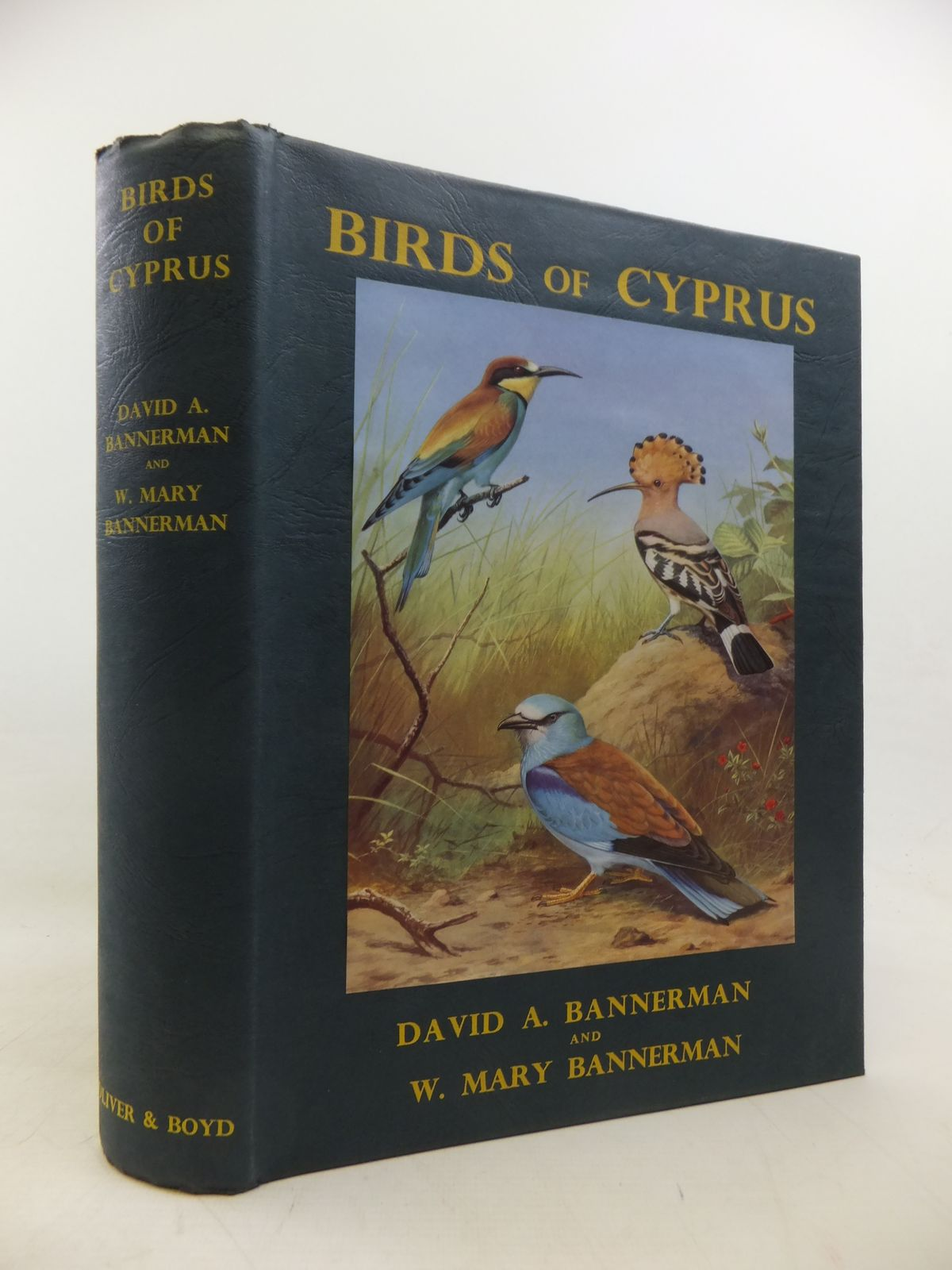 Photo of BIRDS OF CYPRUS written by Bannerman, D.A.<br />Bannerman, W. Mary illustrated by Reid-Henry, David M.<br />Green, Roland published by Oliver & Boyd (STOCK CODE: 1811200)  for sale by Stella & Rose's Books