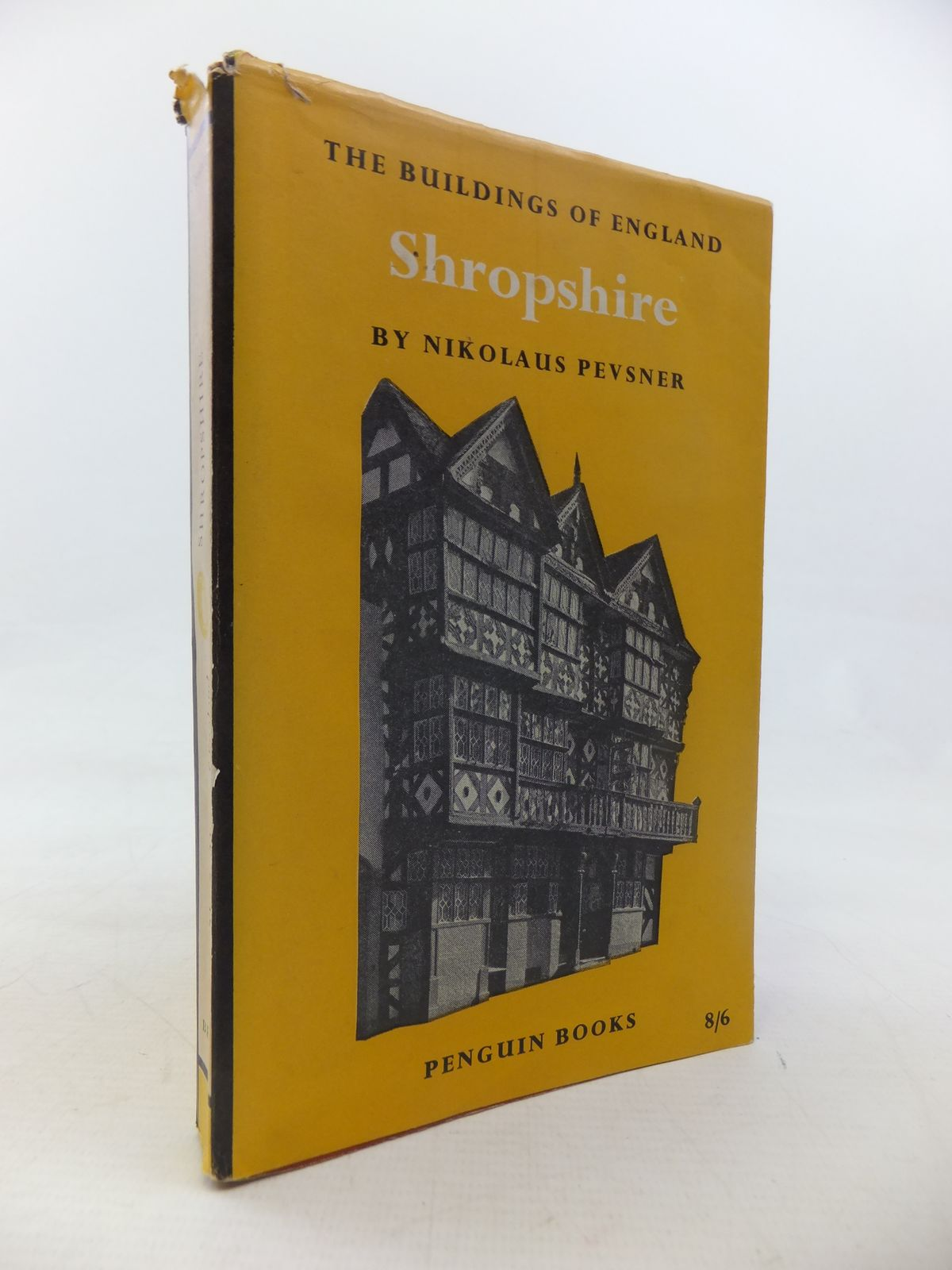 Photo of SHROPSHIRE (BUILDINGS OF ENGLAND) written by Pevsner, Nikolaus published by Penguin (STOCK CODE: 1811226)  for sale by Stella & Rose's Books