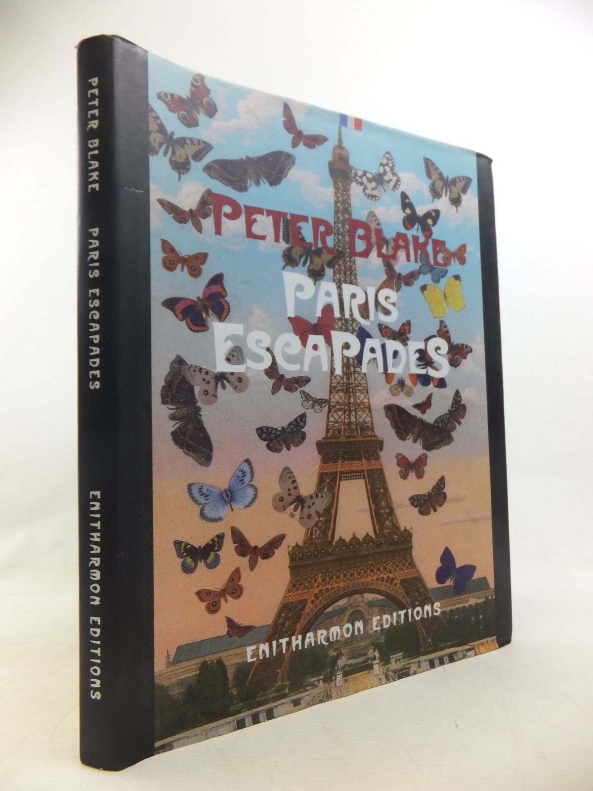 Photo of PARIS ESCAPADES written by Blake, Peter<br />Livingstone, Marco illustrated by Blake, Peter published by Enitharmon Editions (STOCK CODE: 1811251)  for sale by Stella & Rose's Books