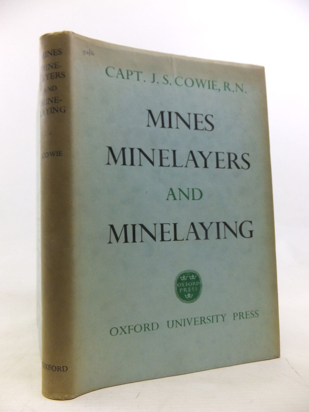 Photo of MINES, MINELAYERS AND MINELAYING written by Cowie, J.S. published by Oxford University Press (STOCK CODE: 1811274)  for sale by Stella & Rose's Books