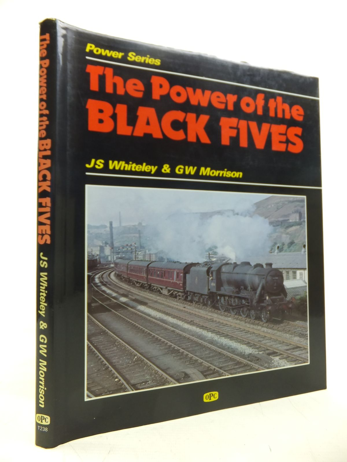 Photo of THE POWER OF THE BLACK FIVES written by Whiteley, J.S.<br />Morrison, G.W. published by Haynes, Oxford Publishing Co (STOCK CODE: 1811288)  for sale by Stella & Rose's Books
