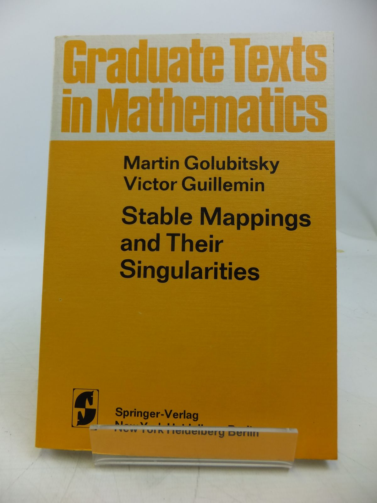 Photo of STABLE MAPPINGS AND THEIR SINGULARITIES
