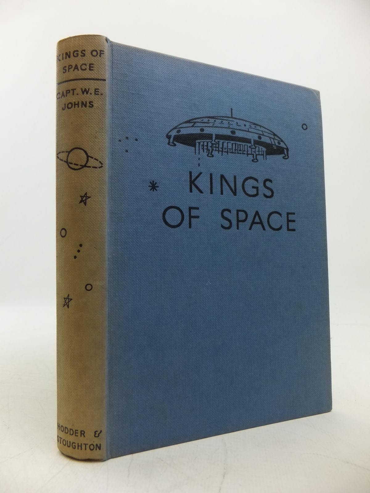 Photo of KINGS OF SPACE written by Johns, W.E. illustrated by Stead,  published by Hodder & Stoughton (STOCK CODE: 1811373)  for sale by Stella & Rose's Books