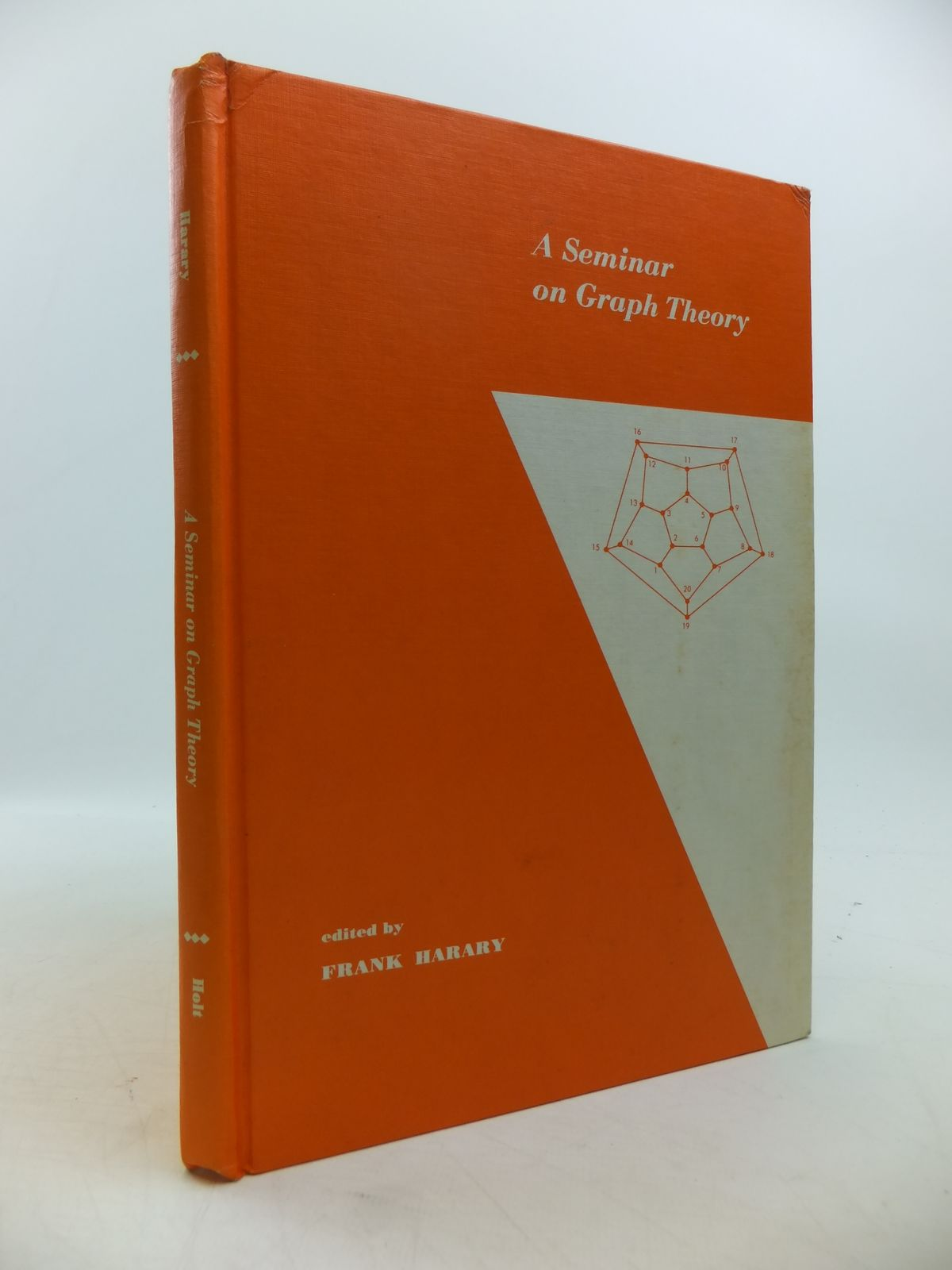 Photo of A SEMINAR ON GRAPH THEORY written by Harary, Frank published by Holt, Rinehart And Winston (STOCK CODE: 1811404)  for sale by Stella & Rose's Books