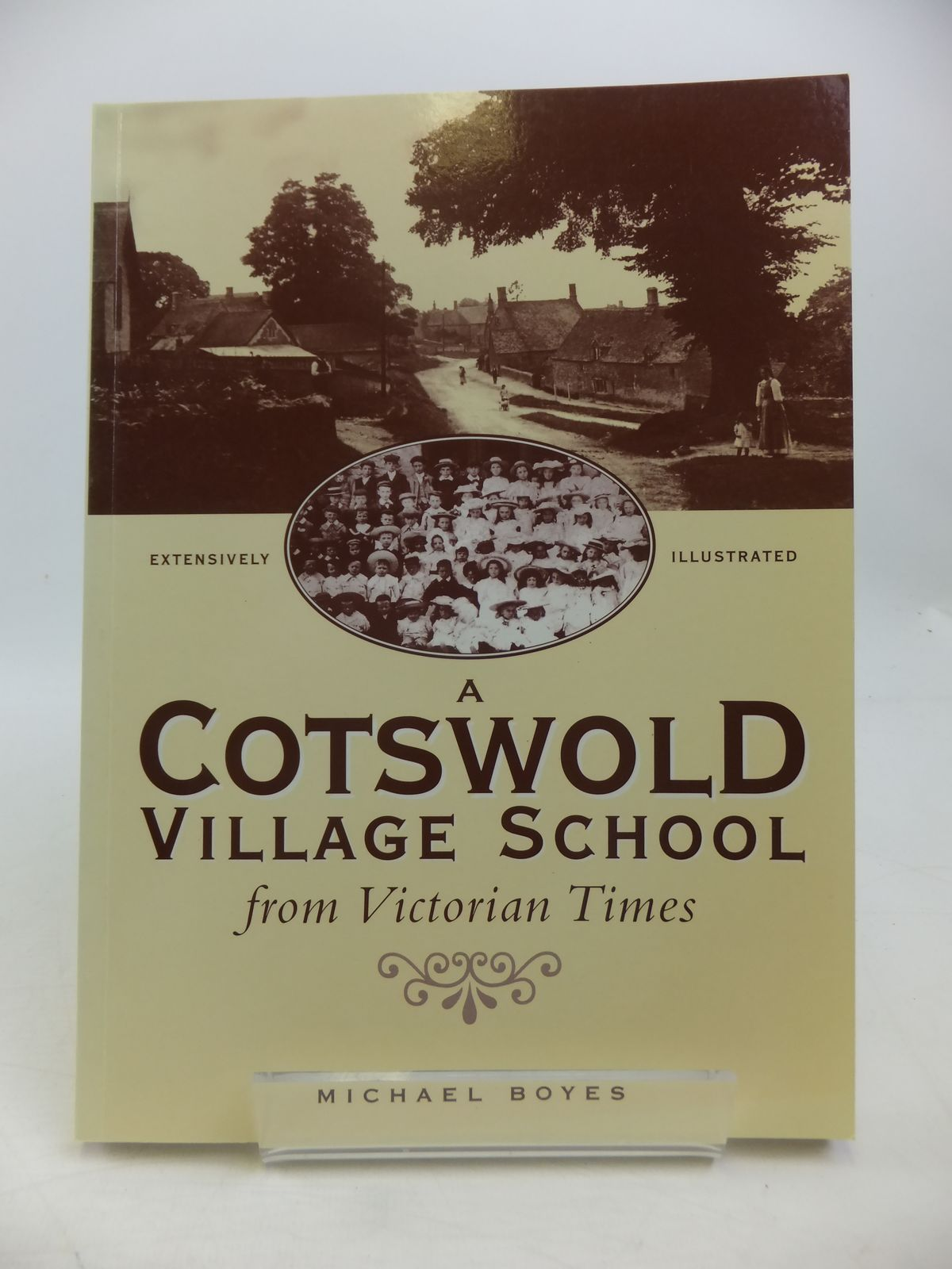 Photo of A COTSWOLD VILLAGE SCHOOL FROM VICTORIAN TIMES written by Boyes, Michael published by The Rissingtons Local History Society (STOCK CODE: 1811455)  for sale by Stella & Rose's Books