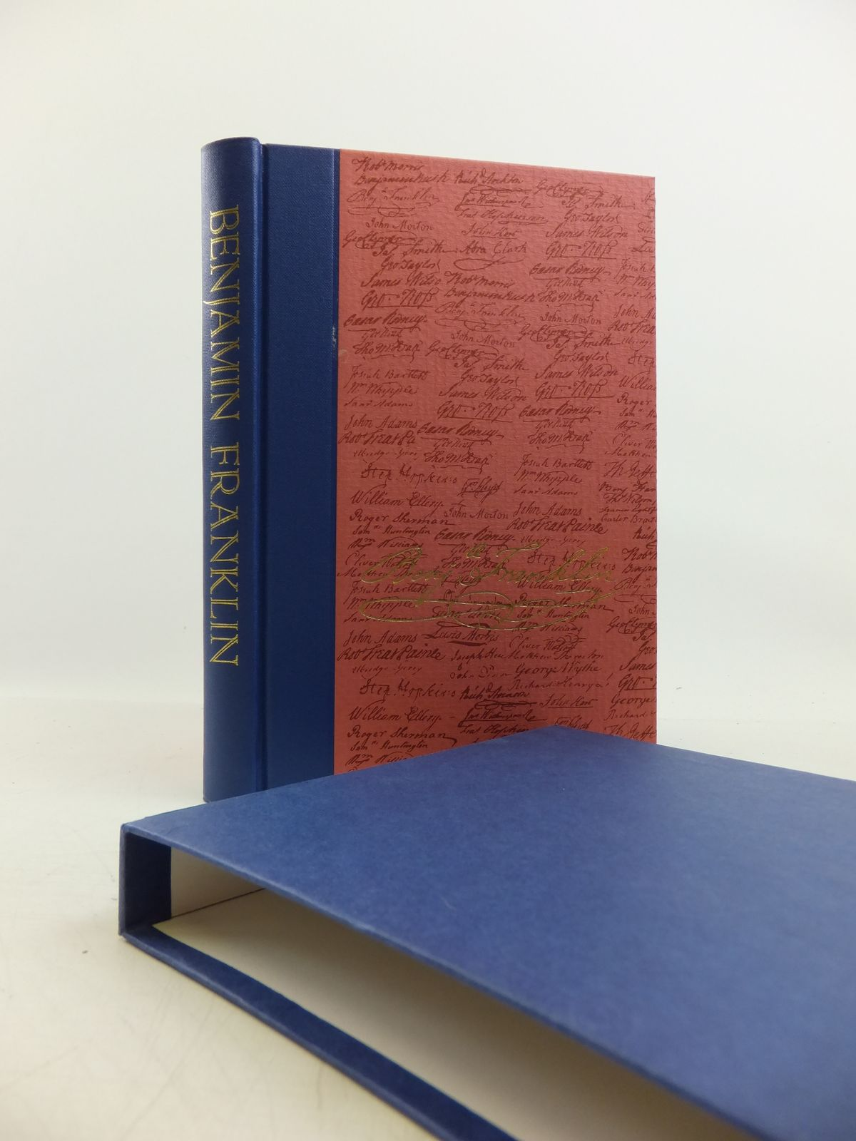 Photo of BENJAMIN FRANKLIN written by Franklin, Benjamin<br />Wright, Esmond published by Folio Society (STOCK CODE: 1811467)  for sale by Stella & Rose's Books