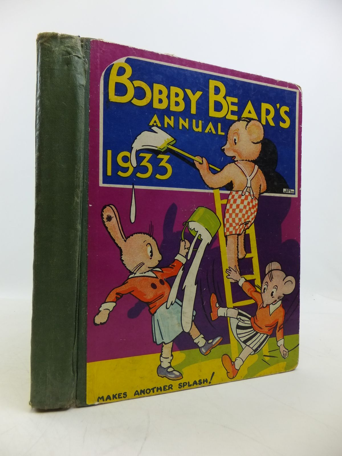 Photo of BOBBY BEAR'S ANNUAL 1933 written by Kitsie, Aunt published by Dean & Son Ltd. (STOCK CODE: 1811478)  for sale by Stella & Rose's Books