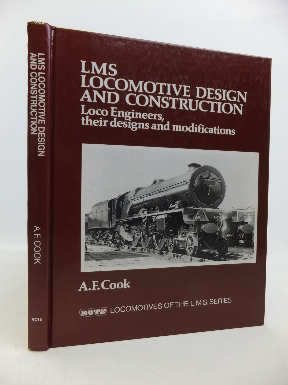 Photo of LMS LOCOMOTIVE DESIGN AND CONSTRUCTION written by Cook, A.F. published by The Railway Correspondence And Travel Society (STOCK CODE: 1811564)  for sale by Stella & Rose's Books