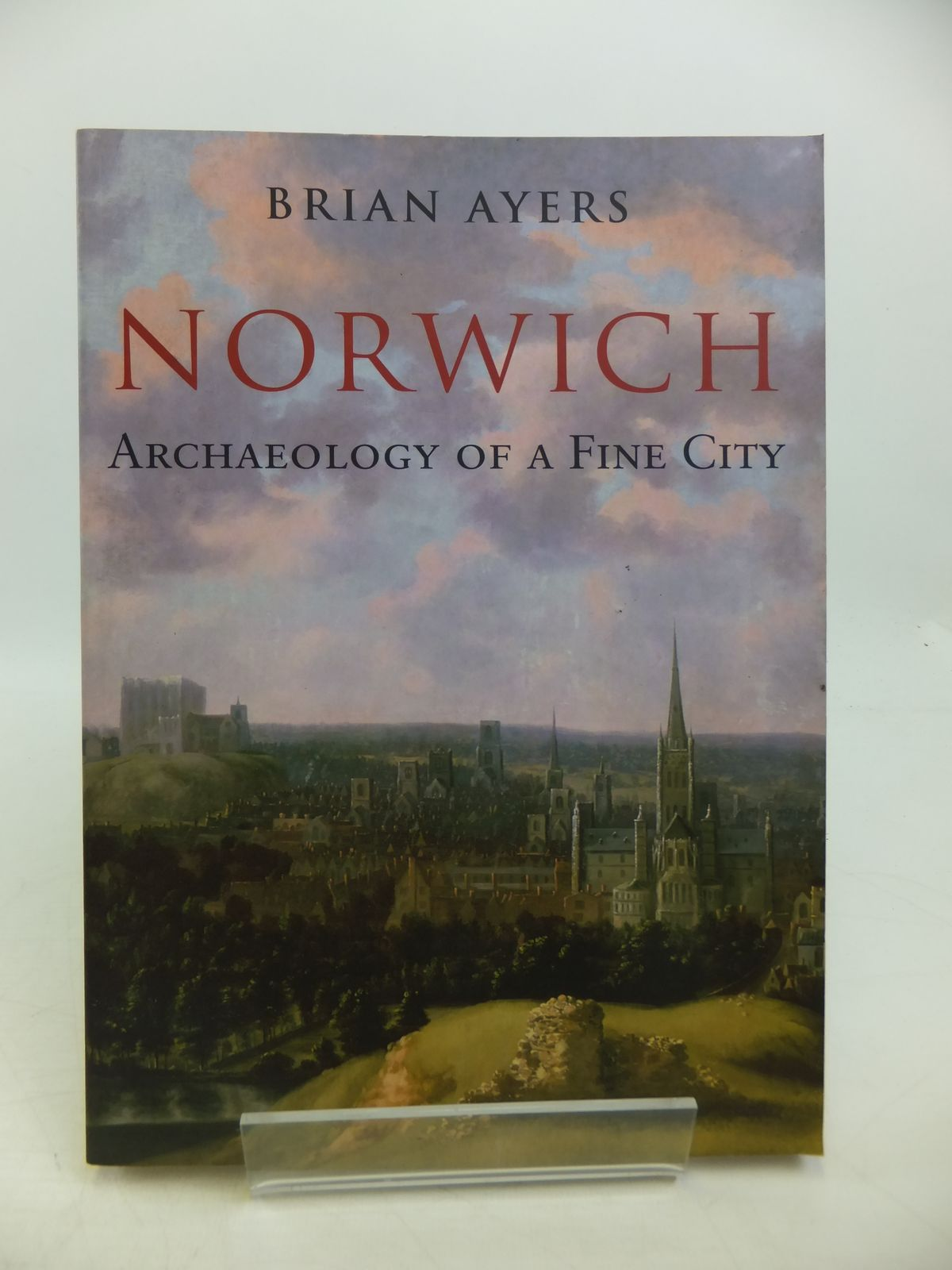 Photo of NORWICH ARCHAEOLOGY OF A FINE CITY written by Ayers, Brian published by Amberley (STOCK CODE: 1811565)  for sale by Stella & Rose's Books