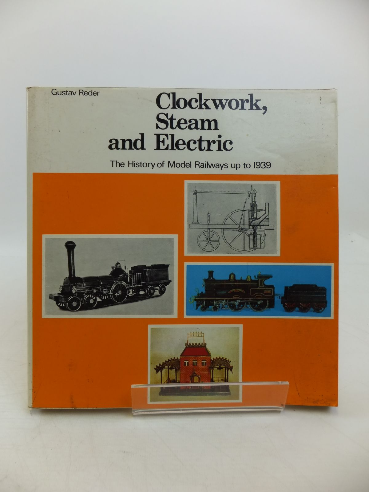 Photo of CLOCKWORK, STEAM AND ELECTRIC A HISTORY OF MODEL RAILWAYS written by Reder, Gustav published by Ian Allan (STOCK CODE: 1811569)  for sale by Stella & Rose's Books