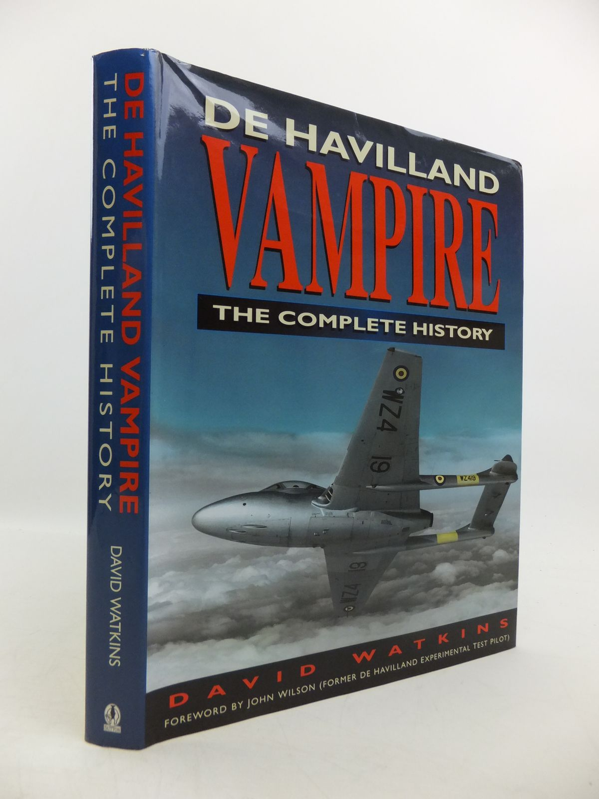 Photo of DE HAVILLAND VAMPIRE THE COMPLETE HISTORY written by Watkins, David published by Sutton Publishing (STOCK CODE: 1811578)  for sale by Stella & Rose's Books