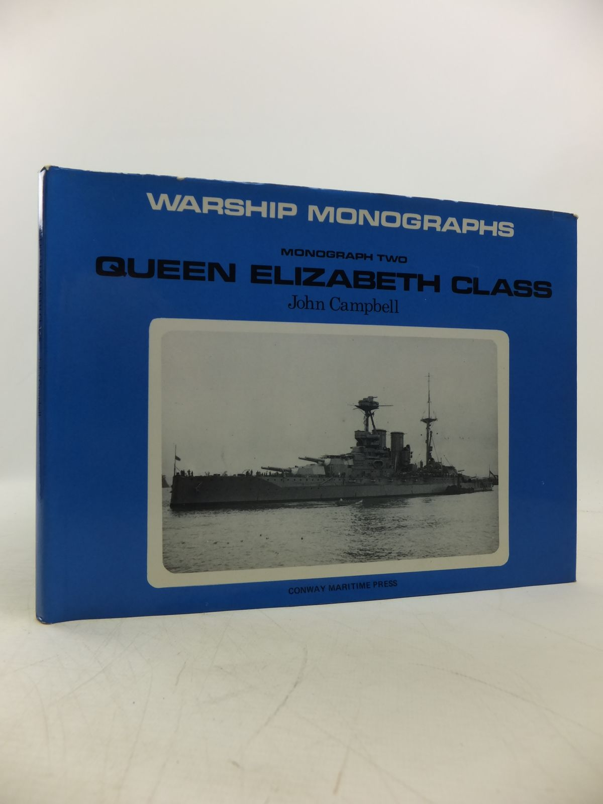 Photo of QUEEN ELIZABETH CLASS written by Campbell, John published by Conway Maritime Press (STOCK CODE: 1811626)  for sale by Stella & Rose's Books