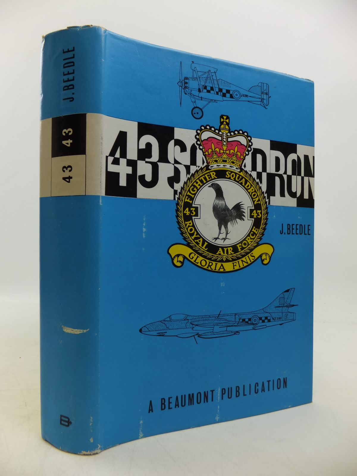 Photo of 43 SQUADRON ROYAL FLYING CORPS ROYAL AIR FORCE illustrated by Beedle, J. published by Beaumont Aviation Literature (STOCK CODE: 1811666)  for sale by Stella & Rose's Books