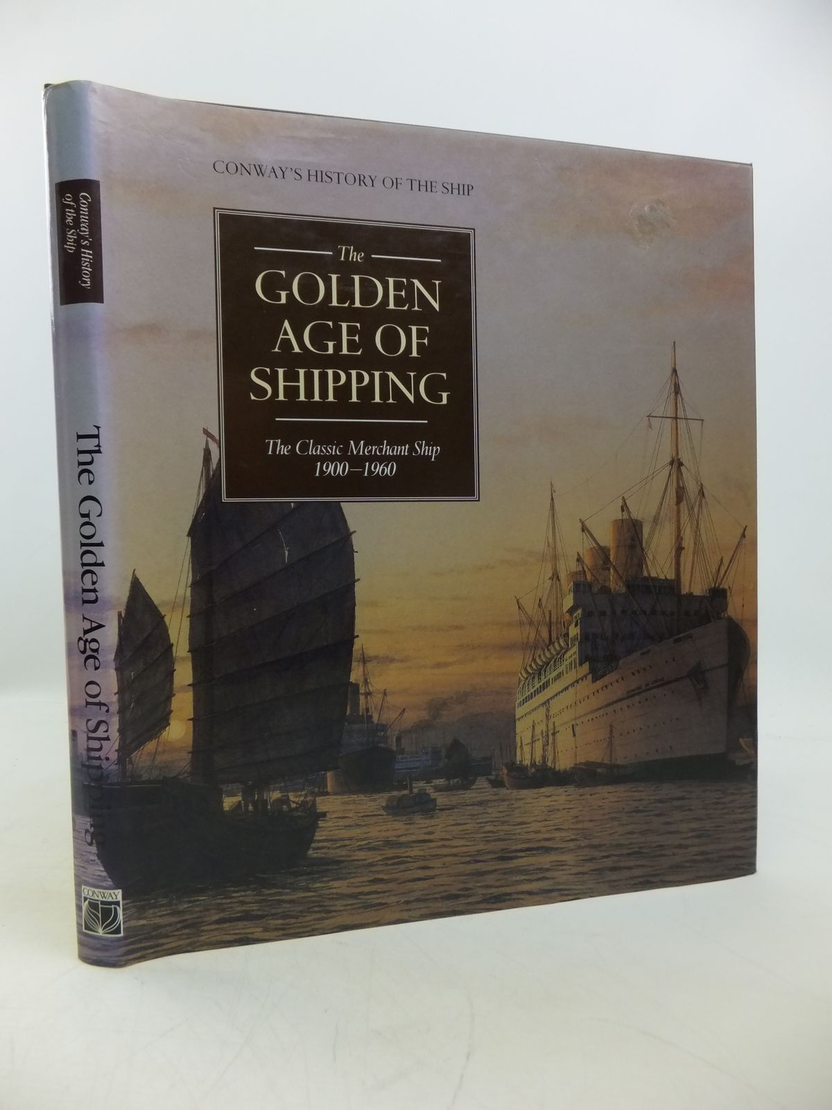 Photo of THE GOLDEN AGE OF SHIPPING THE CLASSIC MERCHANT SHIP 1900-1960 written by Gardiner, Robert<br />Greenway, Ambrose<br />et al, published by Conway Maritime Press (STOCK CODE: 1811675)  for sale by Stella & Rose's Books