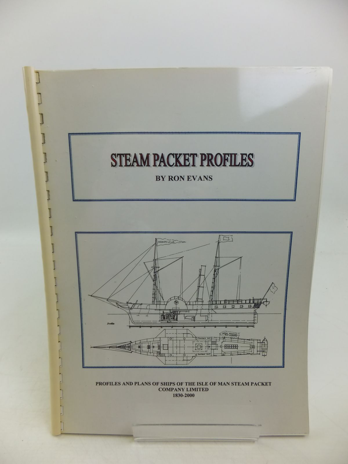 Photo of STEAM PACKET PROFILES written by Evans, Ron published by Ron Evans (STOCK CODE: 1811689)  for sale by Stella & Rose's Books
