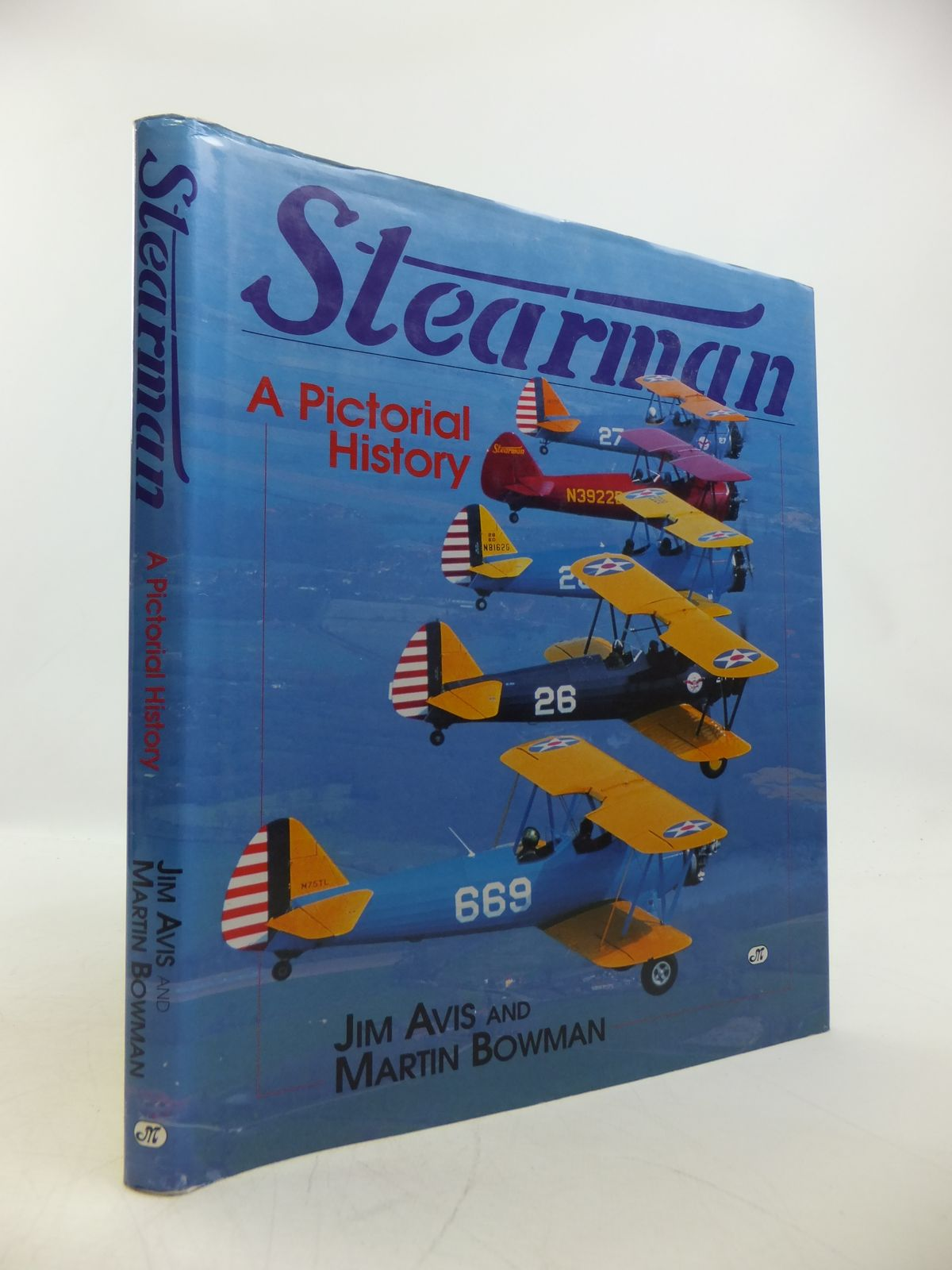 Photo of STEARMAN A PICTORIAL HISTORY written by Avis, Jim<br />Bowman, Martin published by Motorbooks International (STOCK CODE: 1811709)  for sale by Stella & Rose's Books