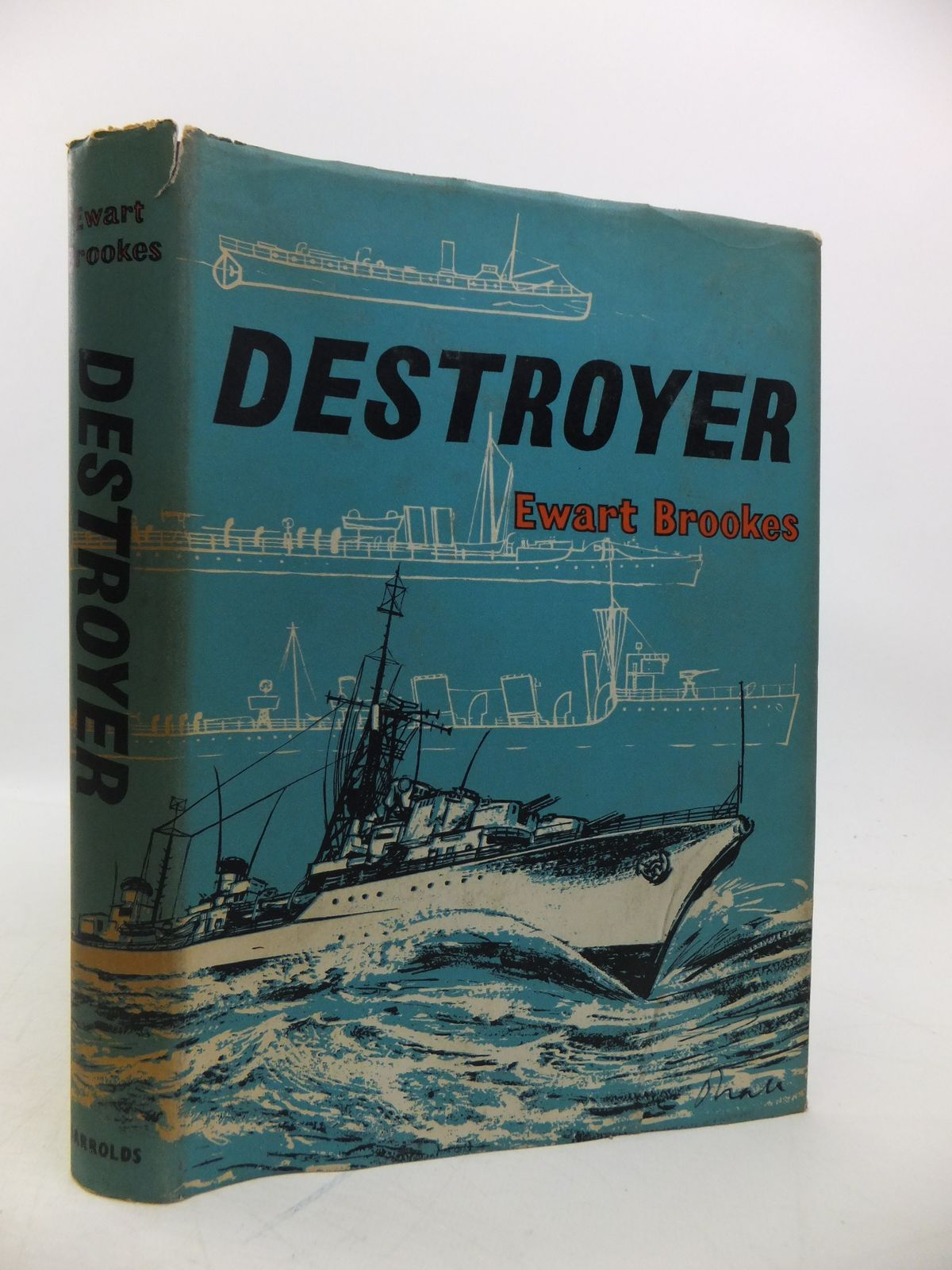 Photo of DESTROYER written by Brookes, Ewart published by Jarrolds (STOCK CODE: 1811727)  for sale by Stella & Rose's Books