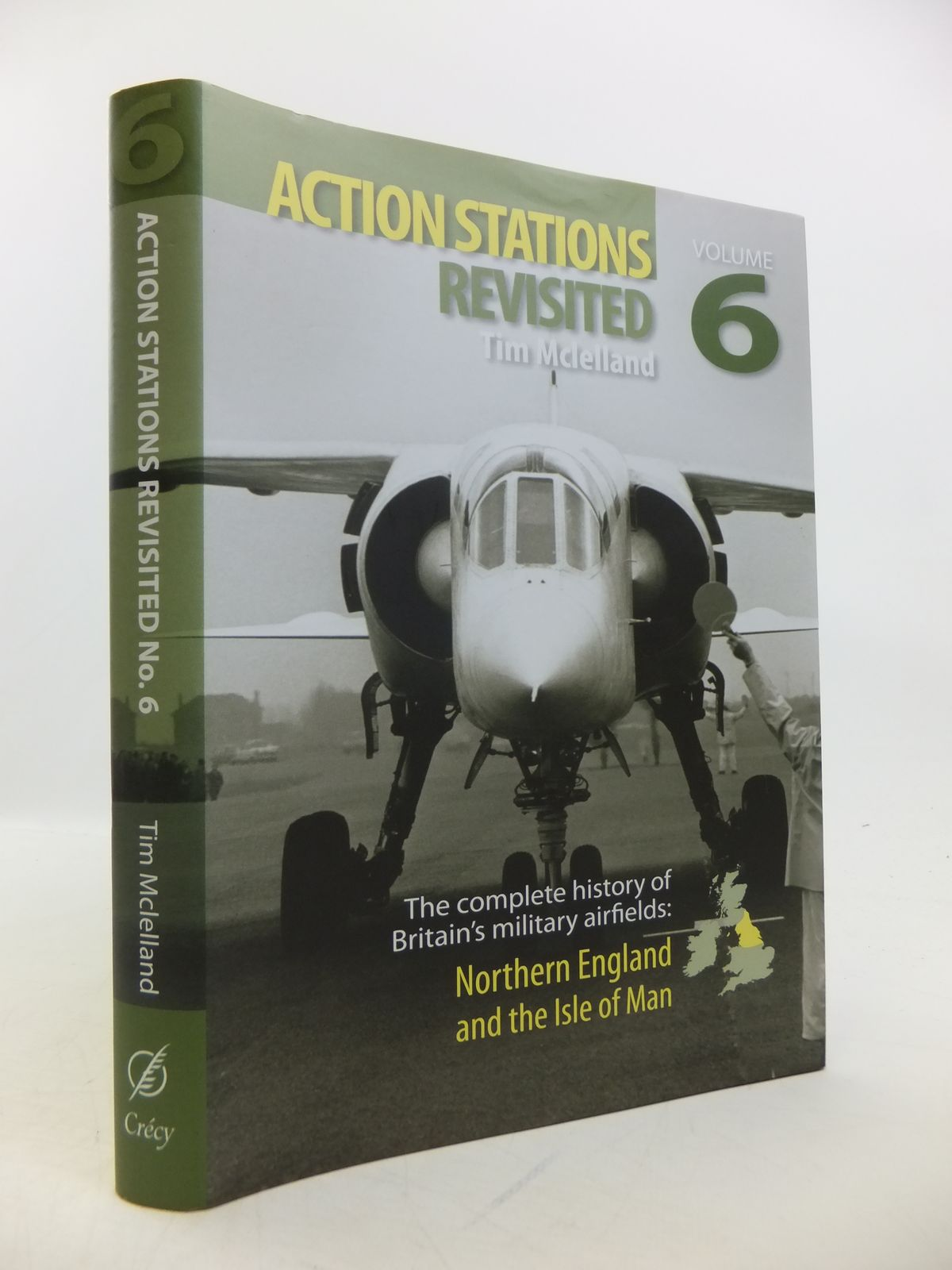 Photo of ACTION STATIONS REVISITED THE COMPLETE HISTORY OF BRITAIN'S MILITARY AIRFIELDS: No.6 NORTHERN ENGLAND AND THE ISLE OF MAN written by McLelland, Tim published by Crecy Publishing Limited (STOCK CODE: 1811745)  for sale by Stella & Rose's Books