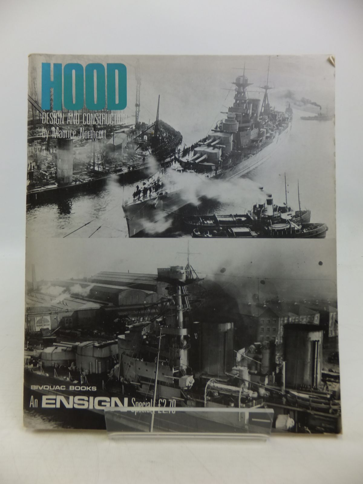 Photo of HOOD DESIGN AND CONSTRUCTION written by Northcott, Maurice published by Bivouac Books (STOCK CODE: 1811747)  for sale by Stella & Rose's Books