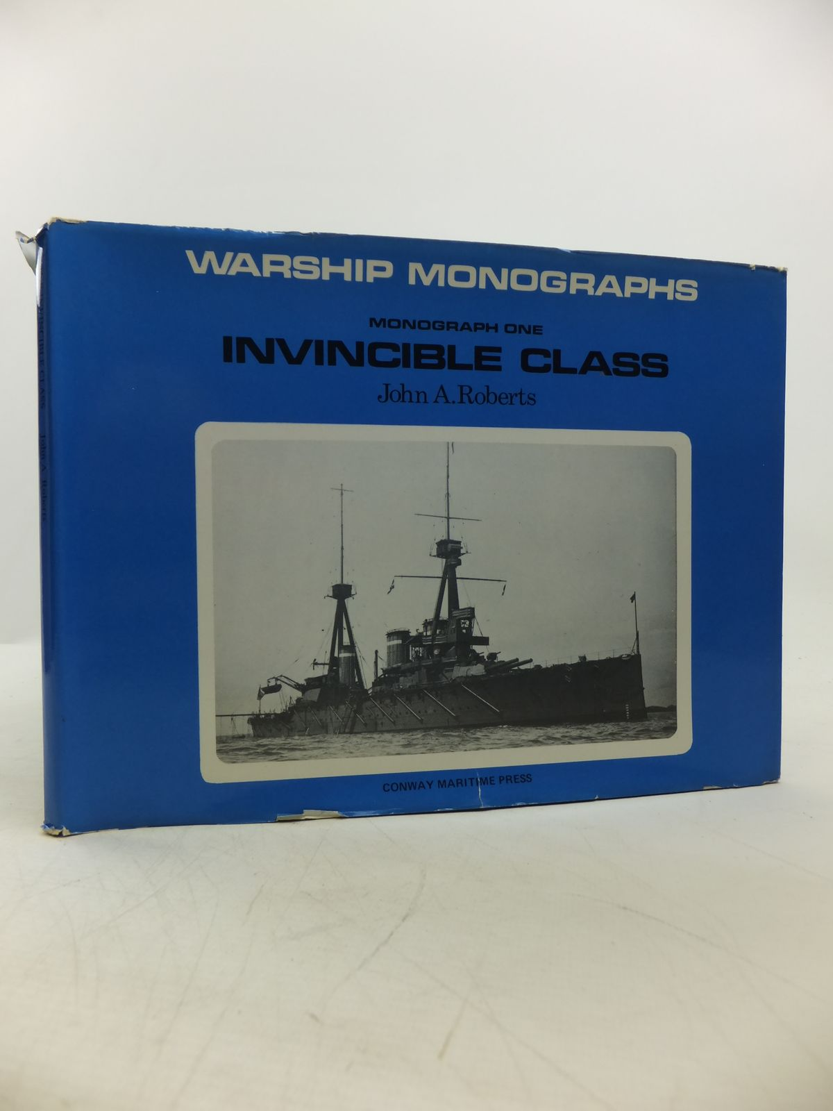 Photo of WARSHIP MONOGRAPHS: INVINCIBLE CLASS written by Roberts, John A. published by Conway Maritime Press (STOCK CODE: 1811749)  for sale by Stella & Rose's Books