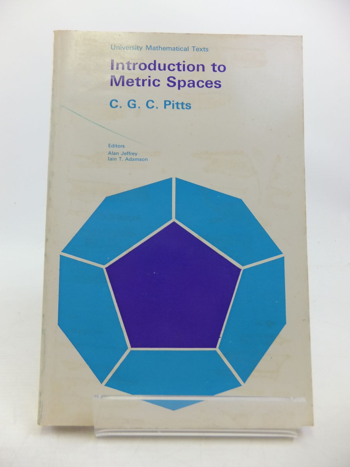 Photo of INTRODUCTION TO METRIC SPACES written by Pitts, C.G.C. published by Oliver & Boyd (STOCK CODE: 1811754)  for sale by Stella & Rose's Books