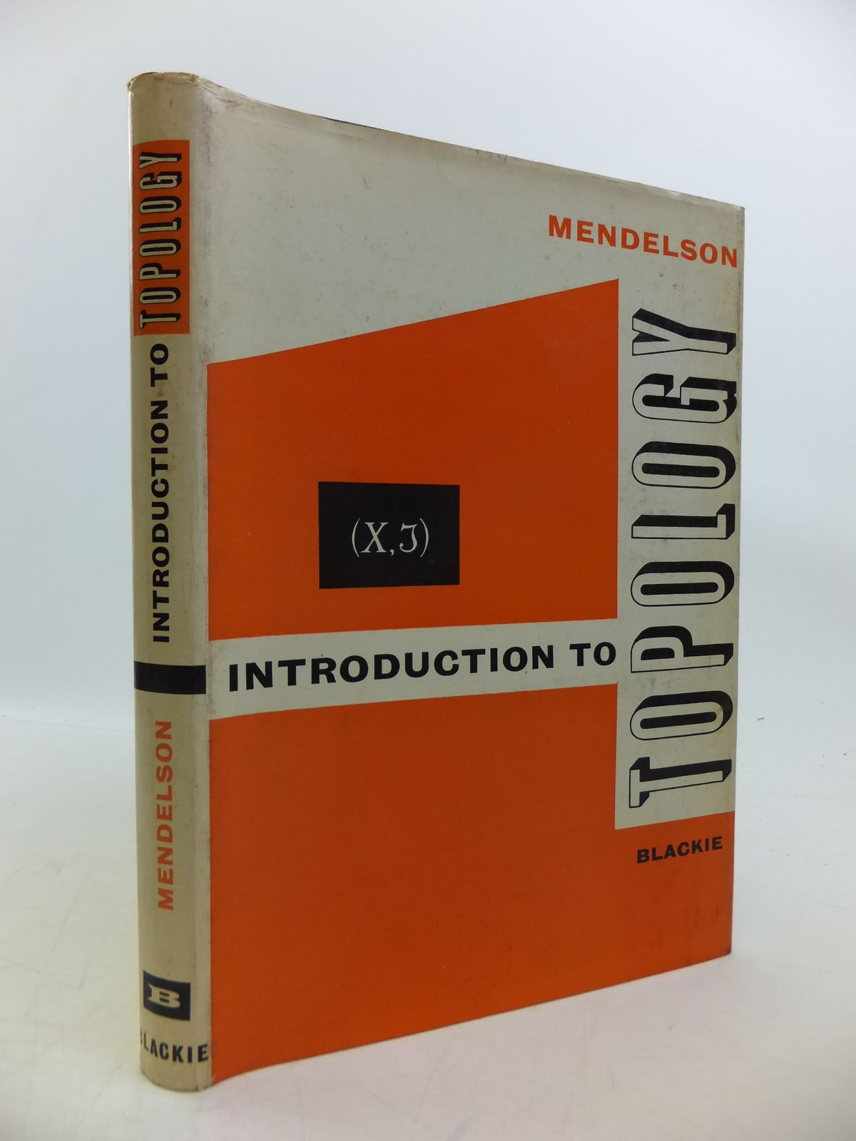 Photo of INTRODUCTION TO TOPOLOGY written by Mendelson, Bert published by Blackie & Son Ltd. (STOCK CODE: 1811756)  for sale by Stella & Rose's Books