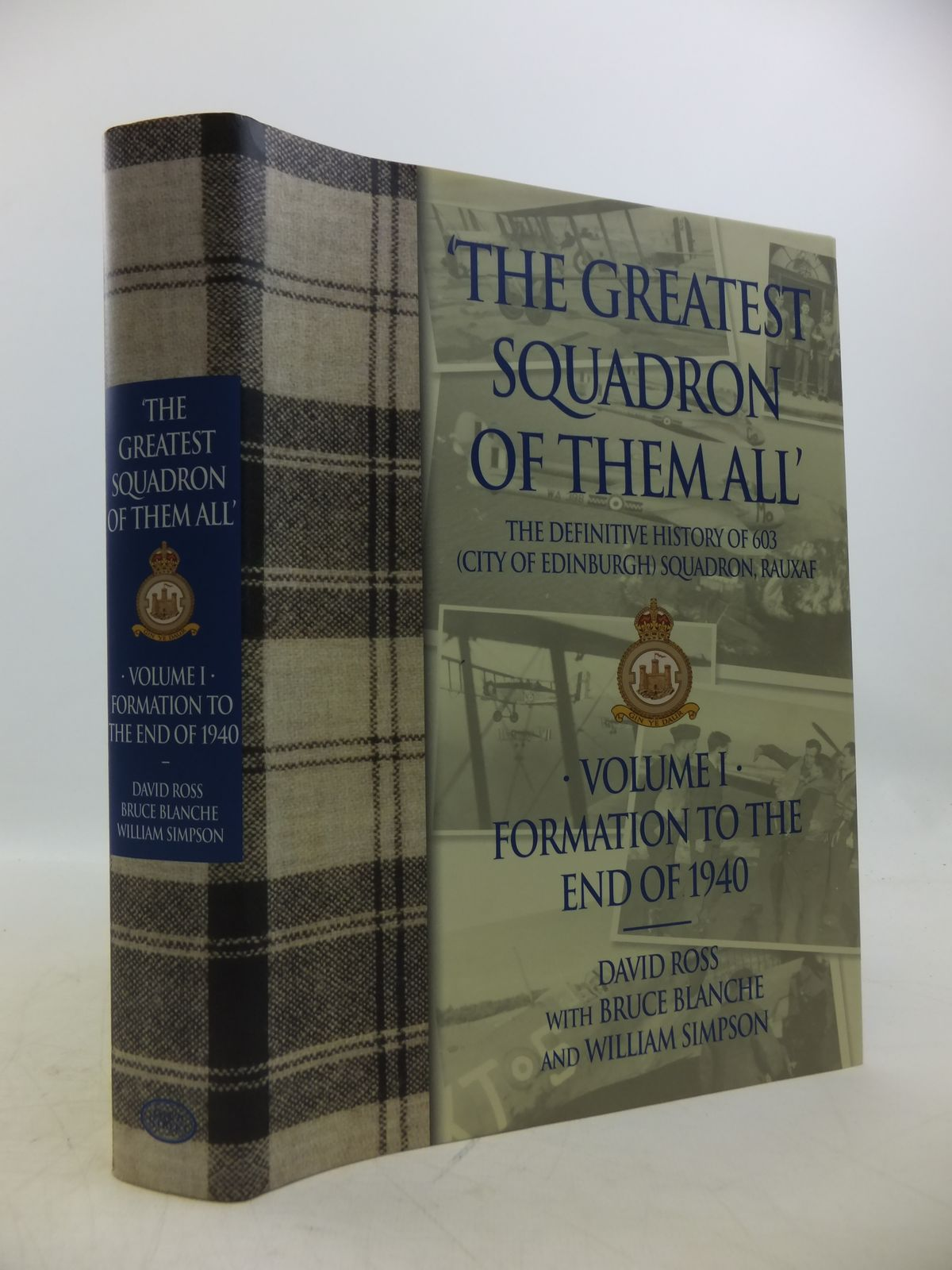 Photo of THE GREATEST SQUADRON OF THEM ALL VOLUME I written by Ross, David<br />Blanche, Bruce<br />Simpson, Bill published by Grub Street (STOCK CODE: 1811803)  for sale by Stella & Rose's Books