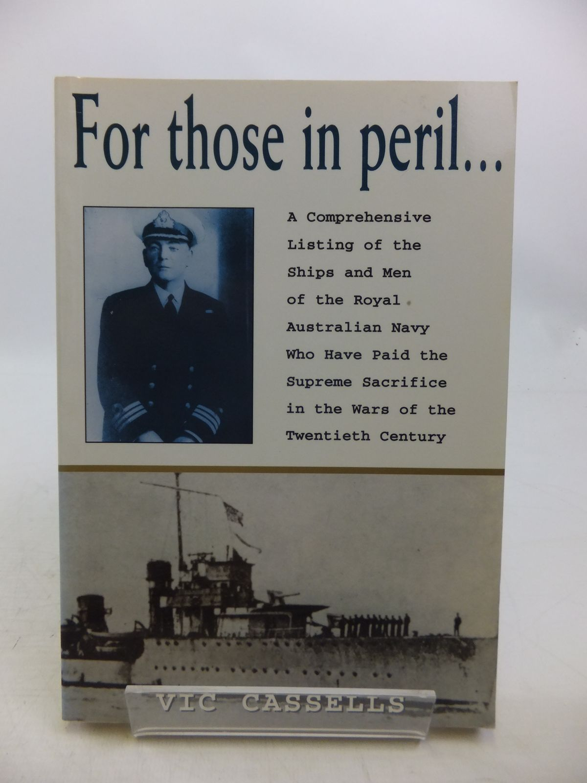 Photo of FOR THOSE IN PERIL written by Cassells, Vic published by Kangaroo Press (STOCK CODE: 1811853)  for sale by Stella & Rose's Books