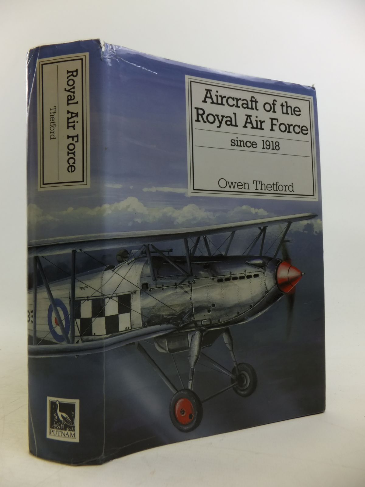 Photo of AIRCRAFT OF THE ROYAL AIR FORCE SINCE 1918 written by Thetford, Owen G. published by Putnam & Company (STOCK CODE: 1811868)  for sale by Stella & Rose's Books